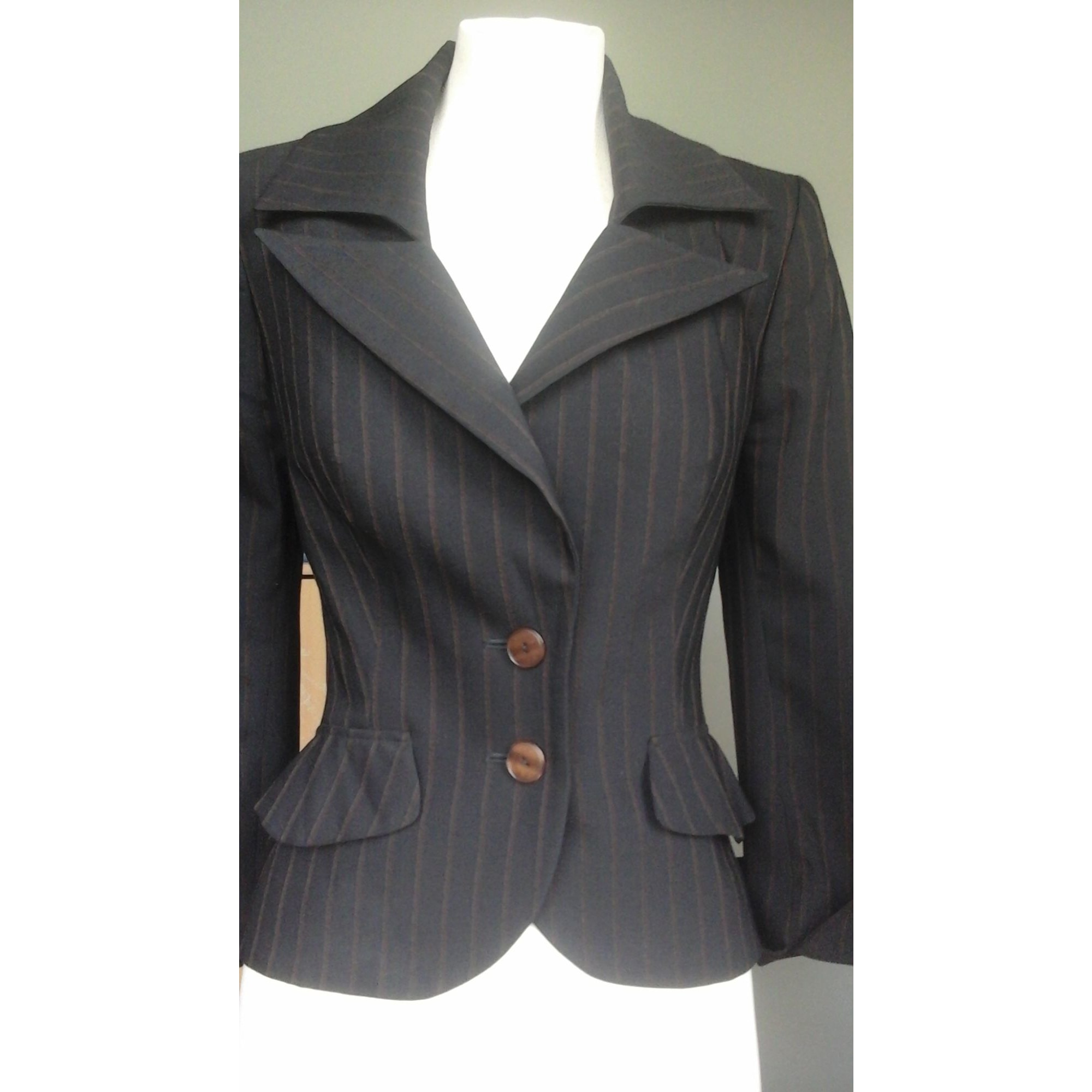 Blazer, veste tailleur ANNE FONTAINE Noir
