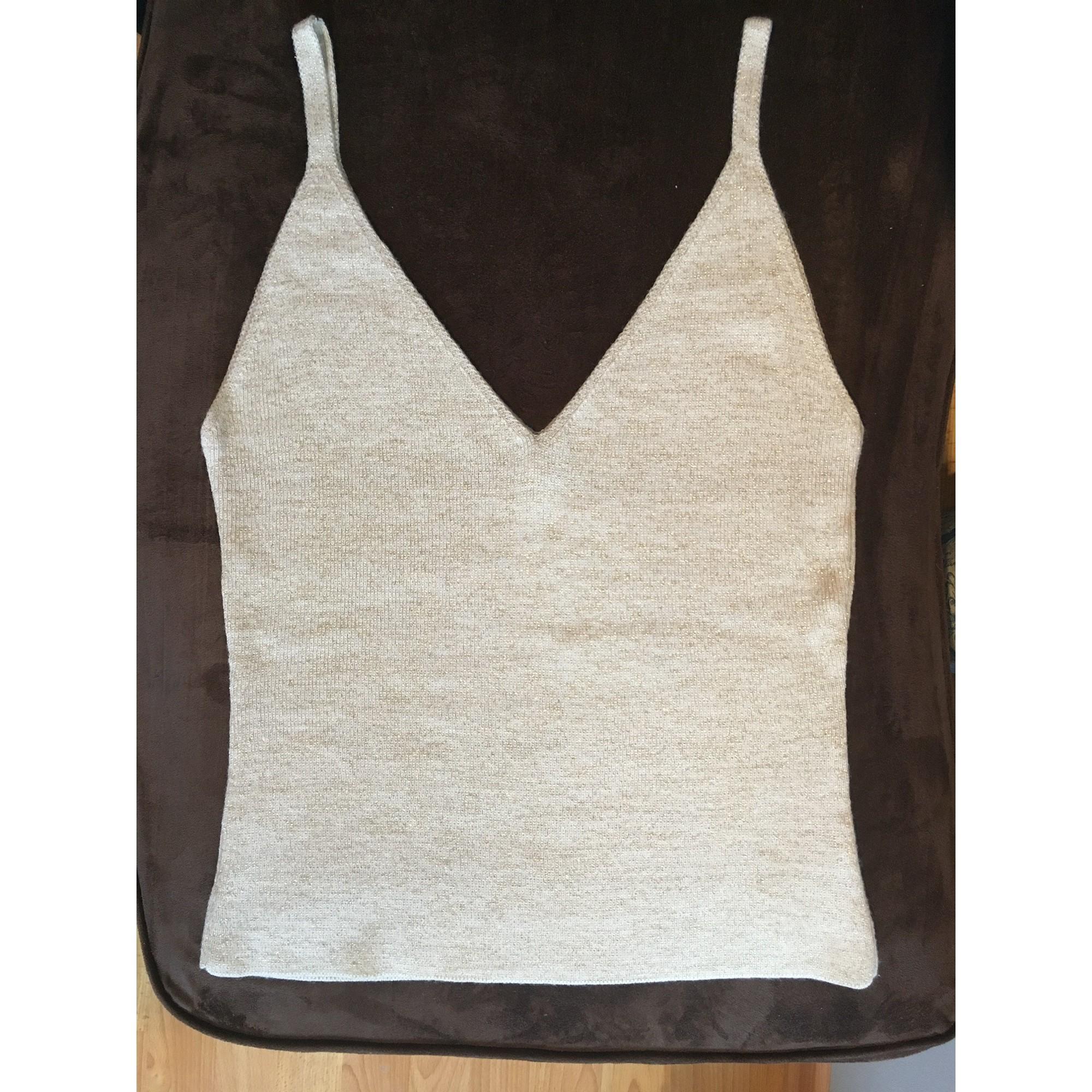 Top, tee-shirt STUDIO PARIS Blanc, blanc cassé, écru