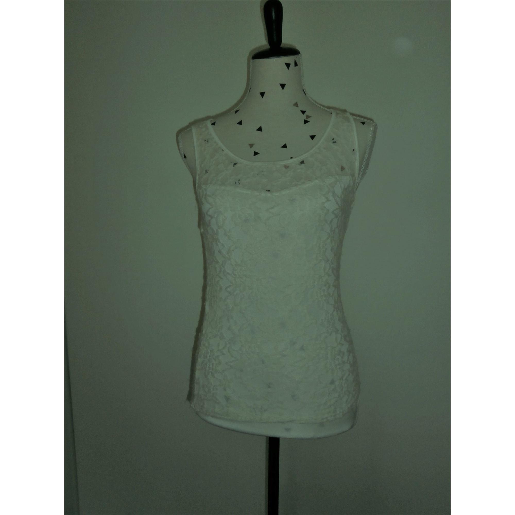 Top, tee-shirt SAPOTILLE Blanc, blanc cassé, écru