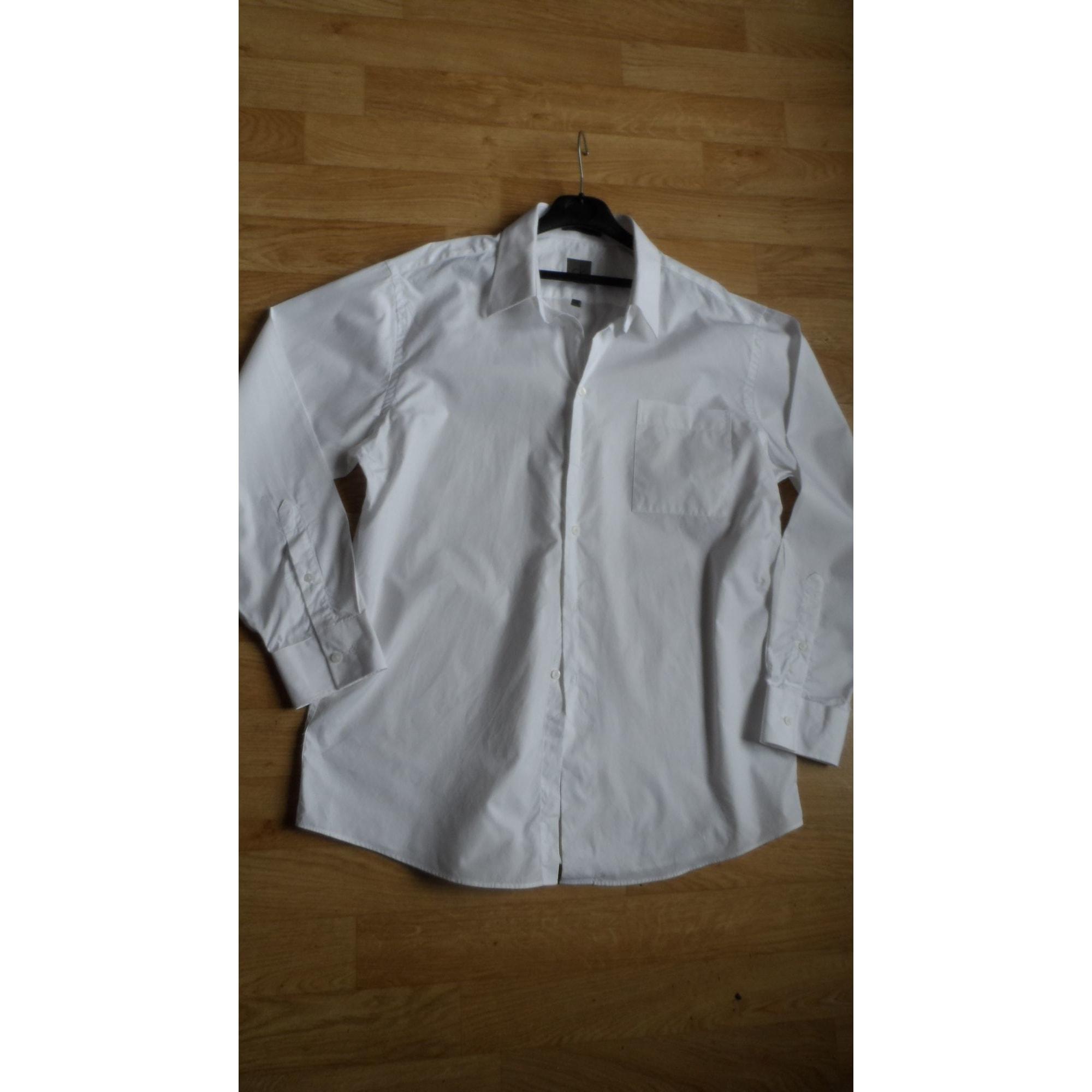Chemise CALVIN KLEIN Blanc, blanc cassé, écru