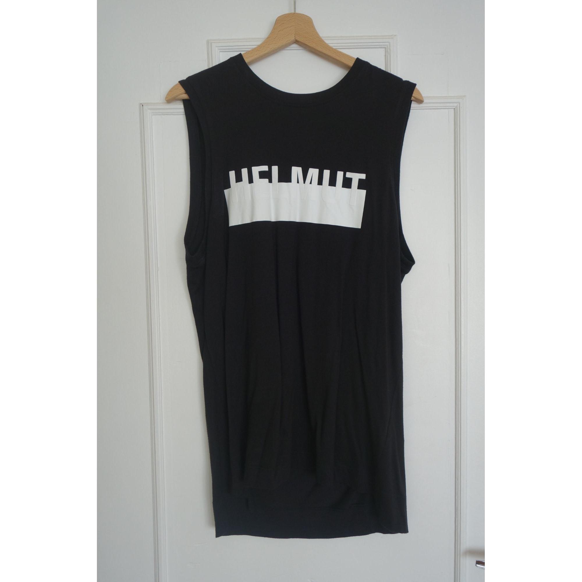 Top, tee-shirt HELMUT LANG Noir