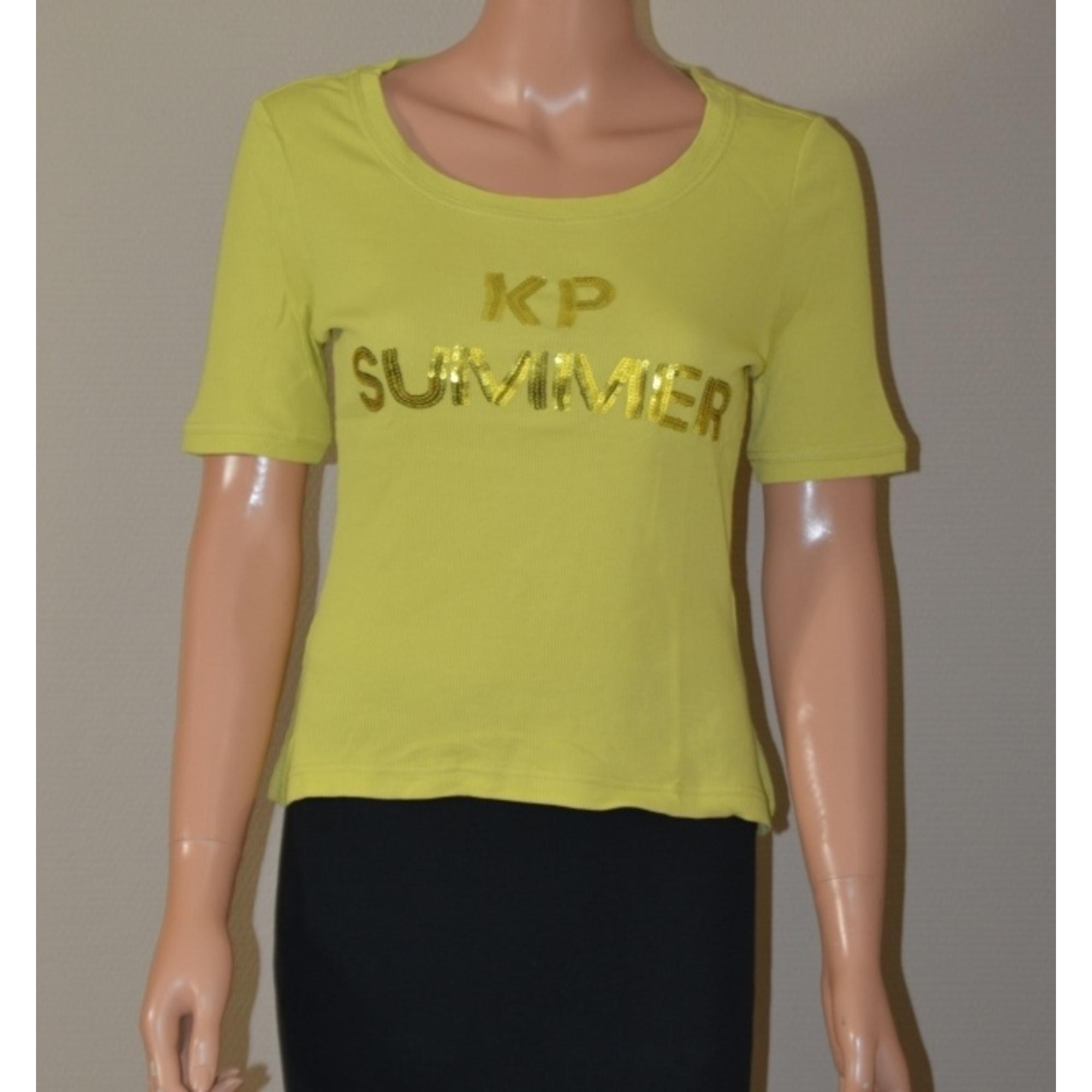 Top, tee-shirt KRISTINA POPOVITCH Vert