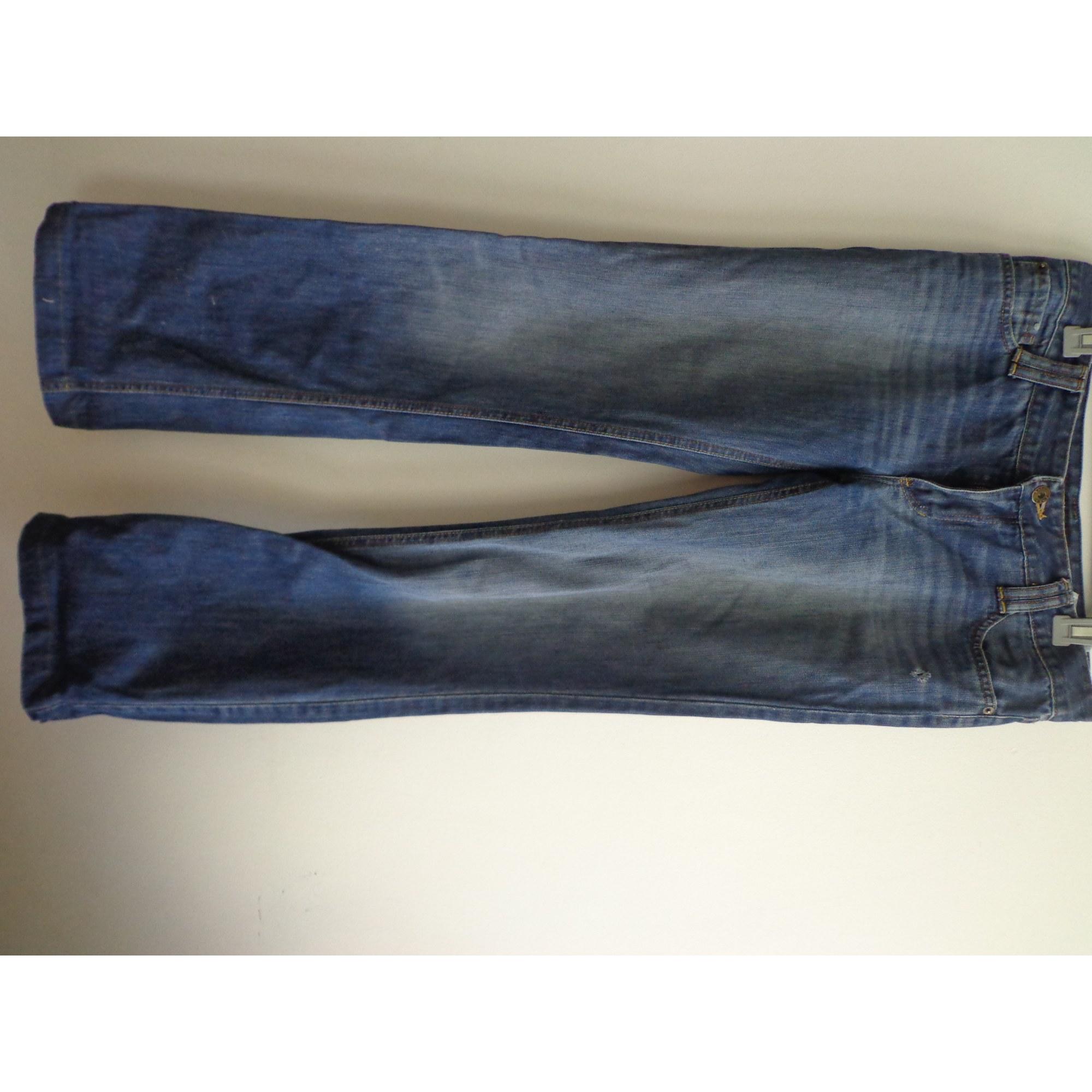 Jeans évasé, boot-cut ZARA Bleu, bleu marine, bleu turquoise