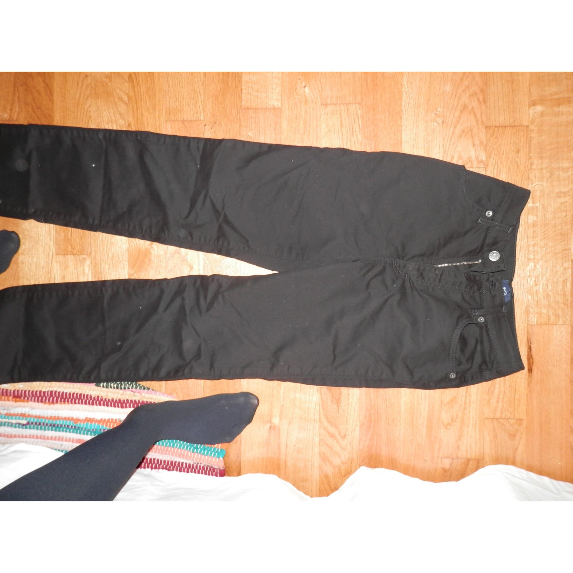 Pantalon droit OBER Noir