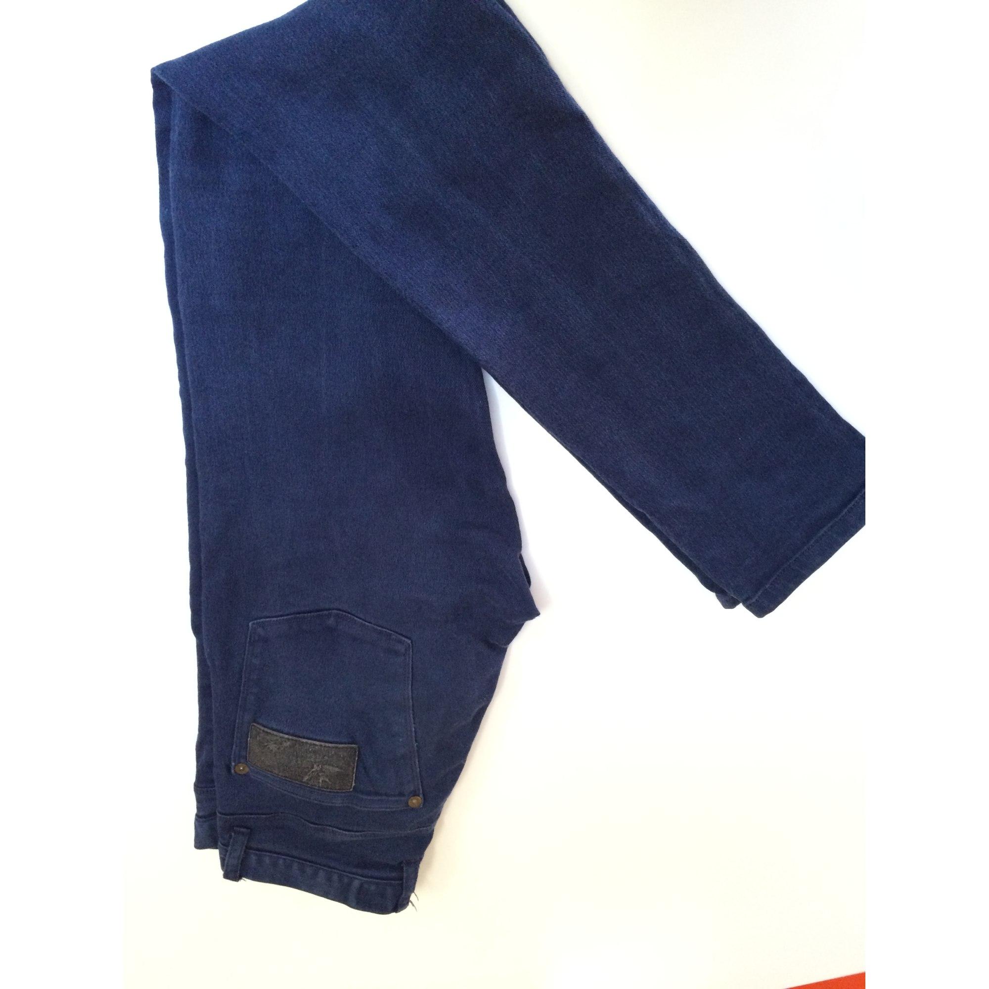 Jeans slim APRIL 77 Bleu, bleu marine, bleu turquoise