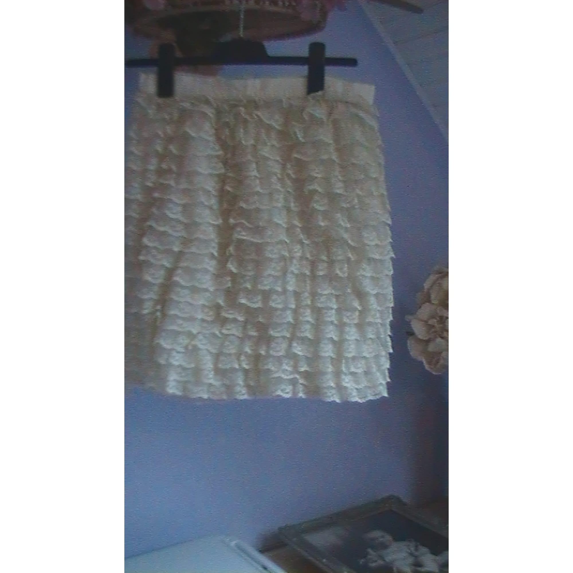 Jupe courte BYBLOS Blanc, blanc cassé, écru