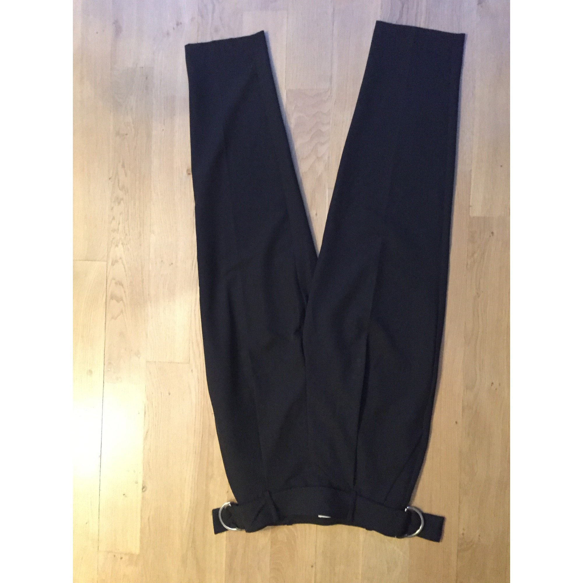 Pantalon large H&M Noir