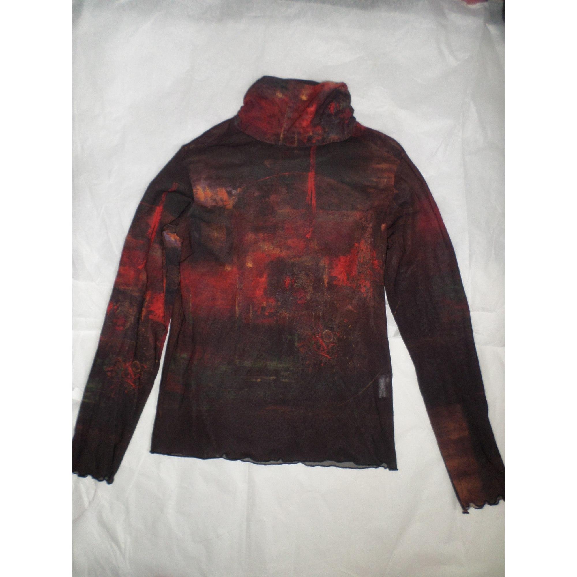 Top, tee-shirt AVENTURES DES TOILES Rouge, bordeaux