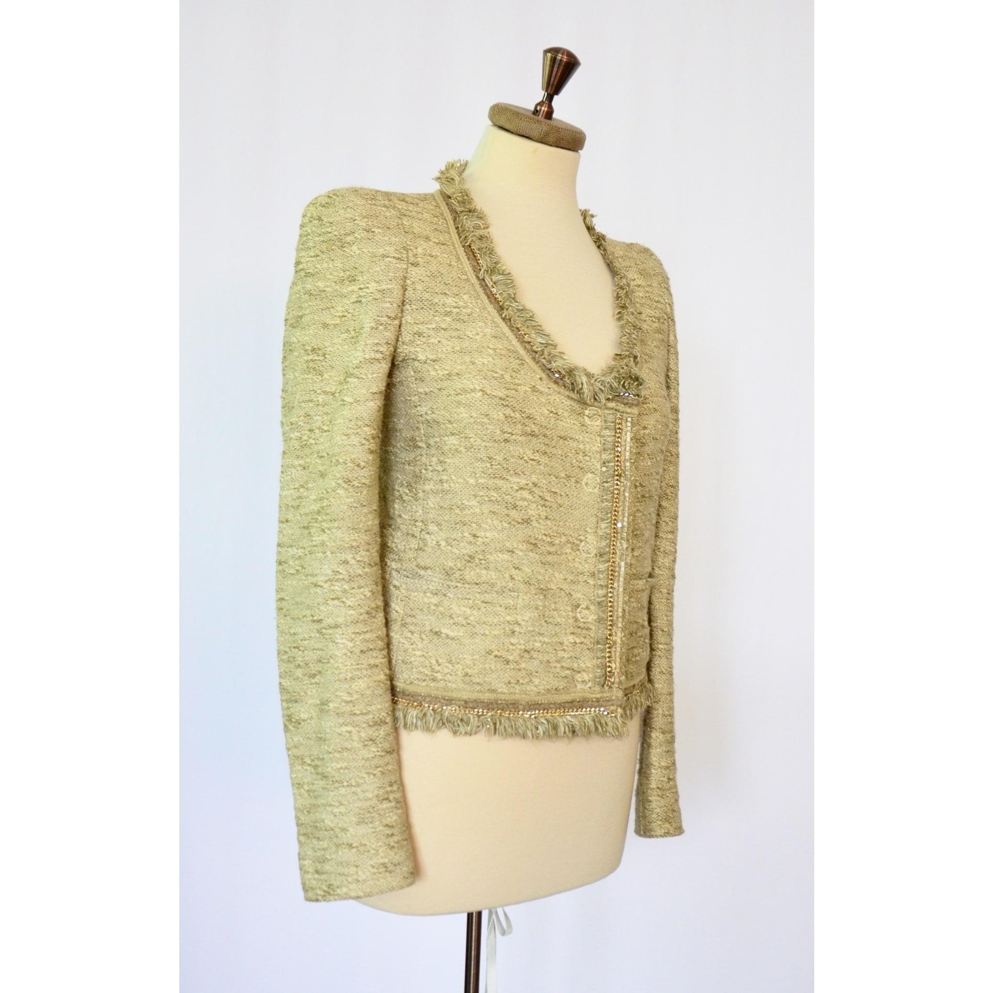 Blazer, veste tailleur PATRIZIA PEPE Beige, camel