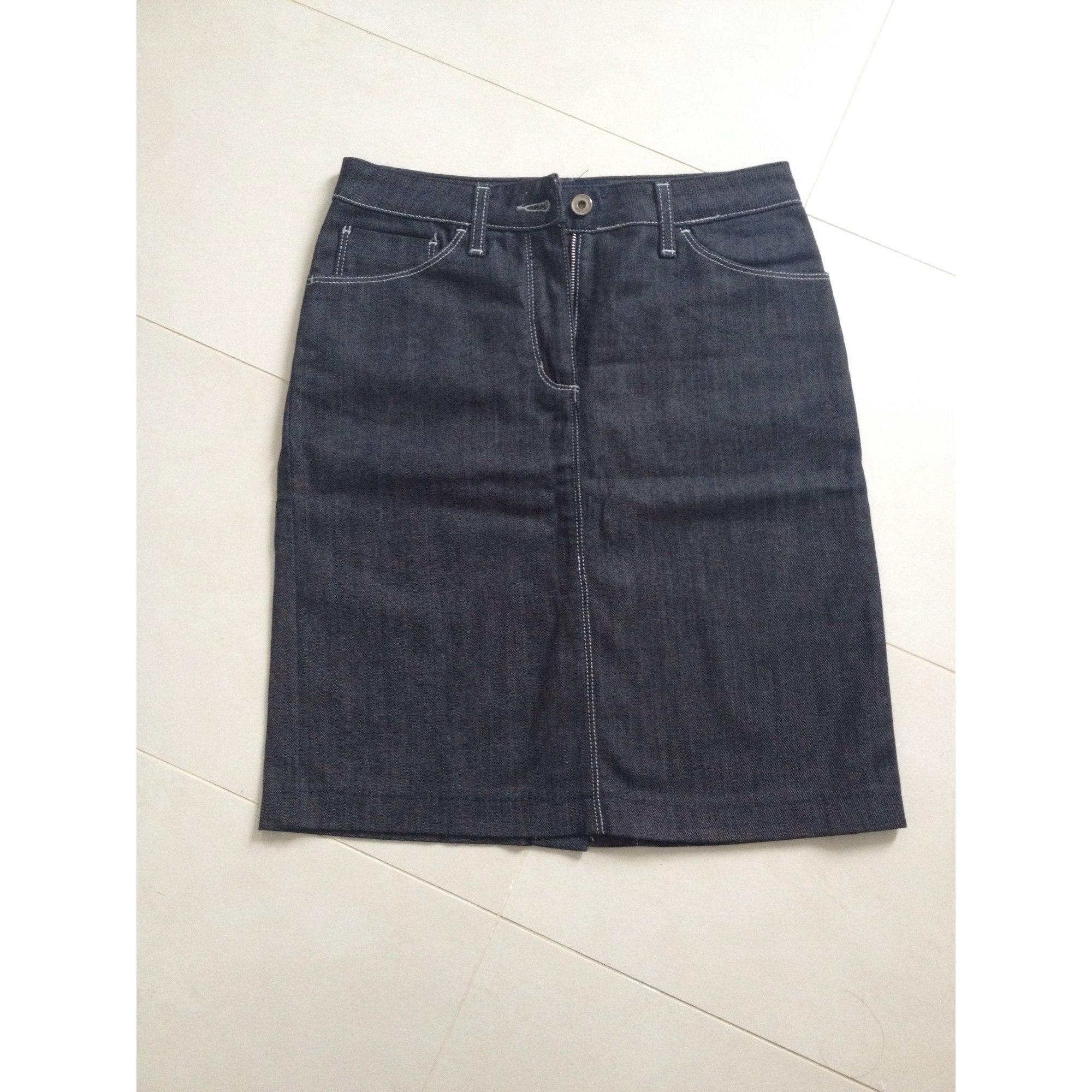 Jupe en jean GANT Bleu, bleu marine, bleu turquoise