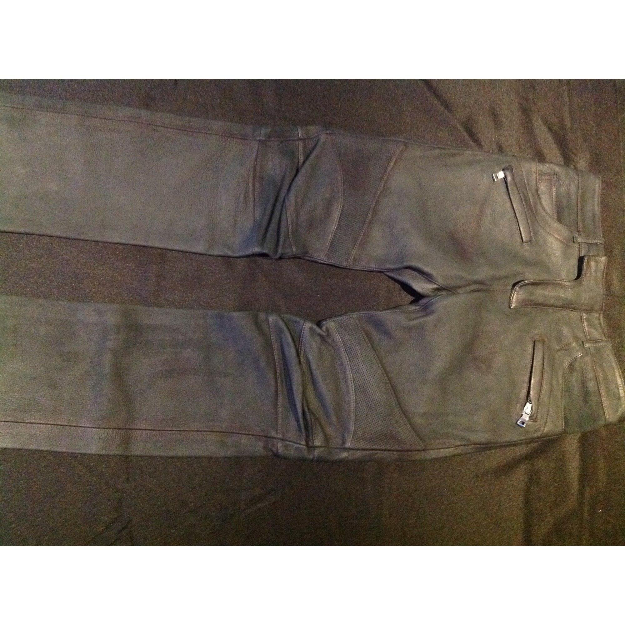 Pantalon slim BALMAIN Vert