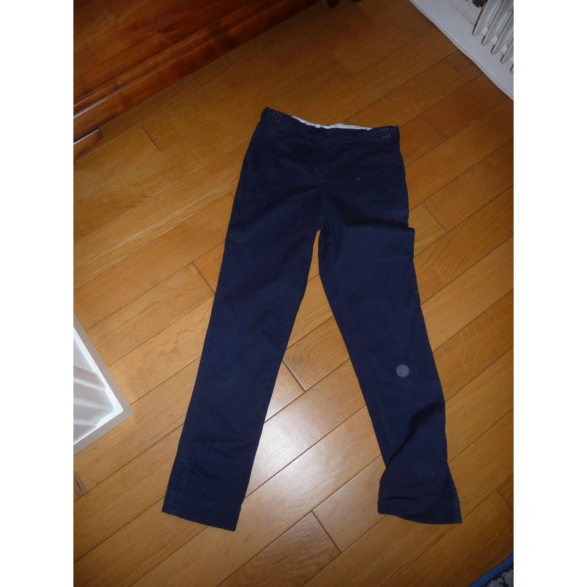 Pantalon CYRILLUS Bleu, bleu marine, bleu turquoise