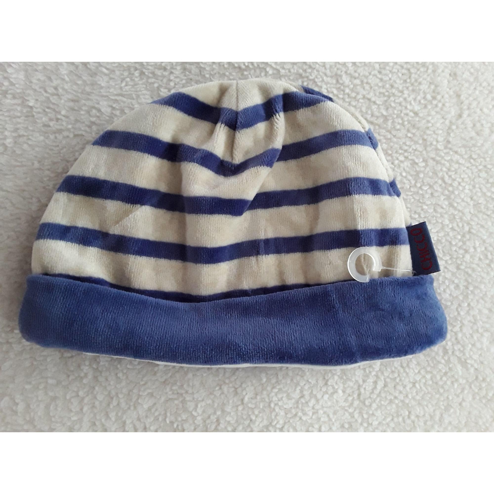 Bonnet CHICCO Bleu, bleu marine, bleu turquoise