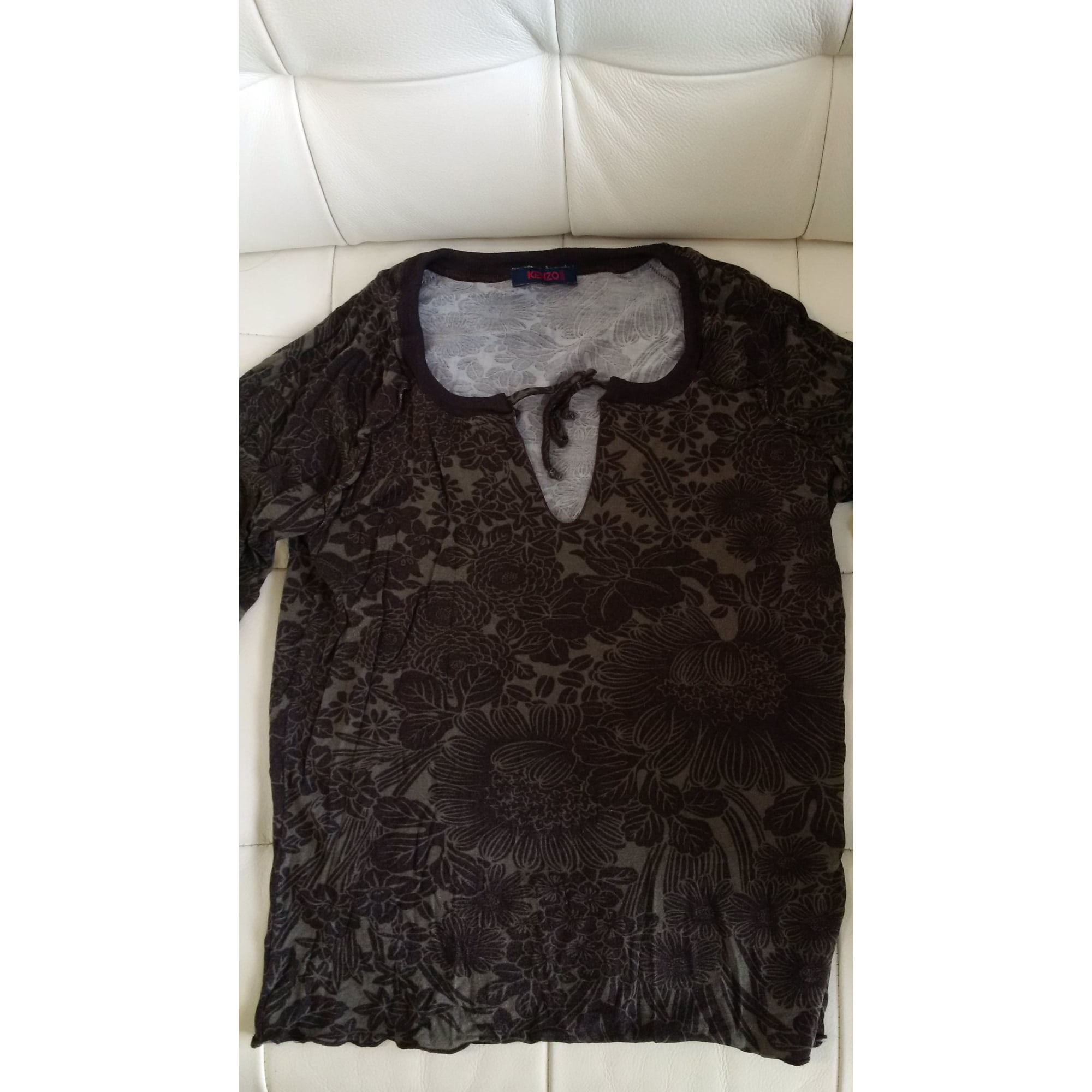 Top, tee-shirt KENZO Kaki