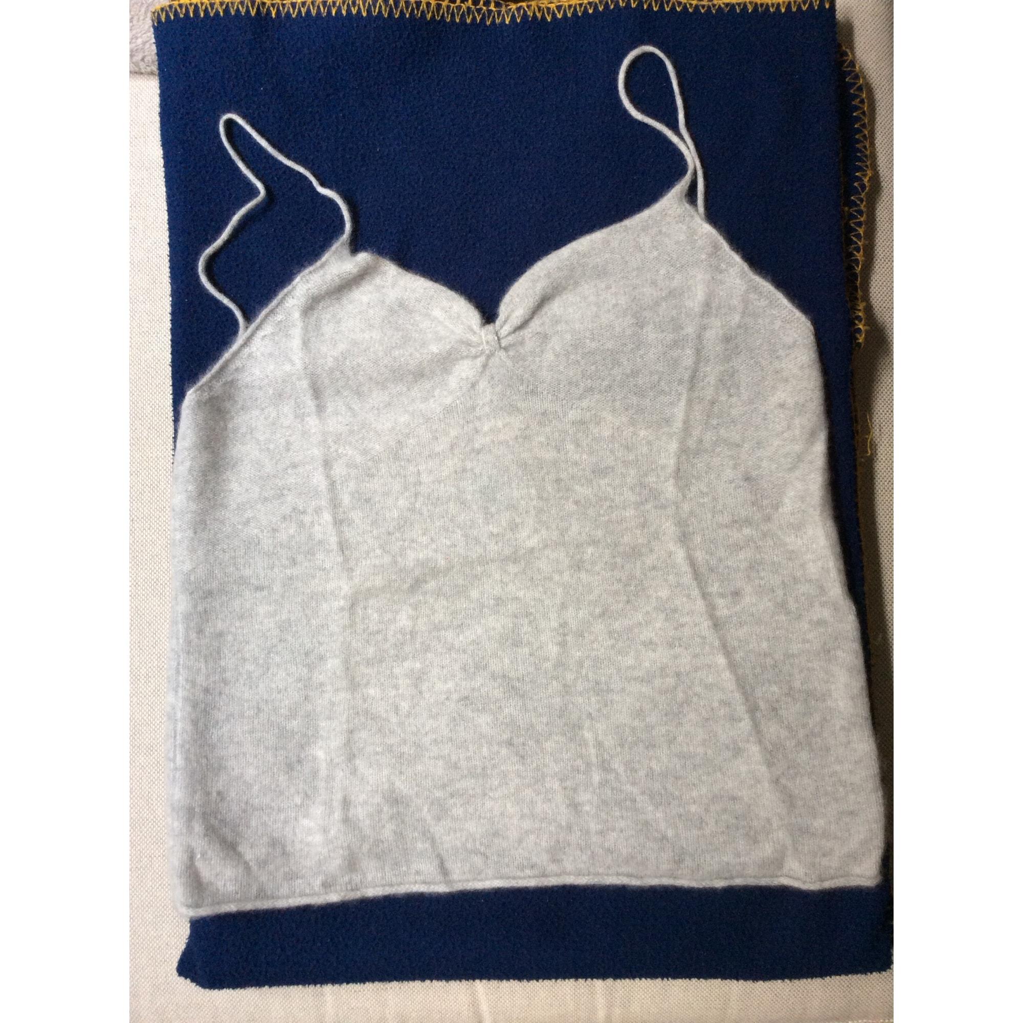 Top, tee-shirt LE MONT SAINT MICHEL Gris, anthracite