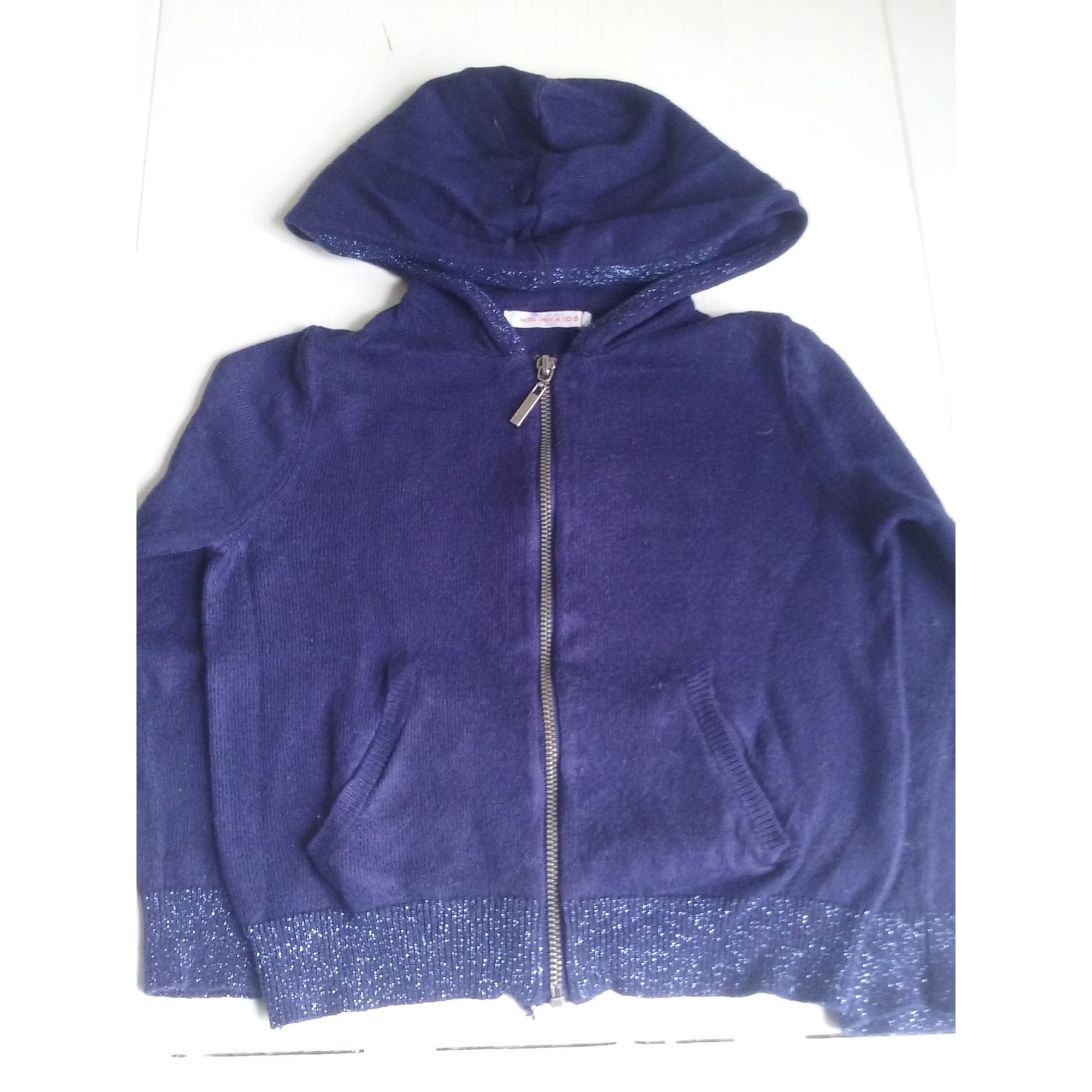 Gilet, cardigan MONOPRIX Bleu, bleu marine, bleu turquoise