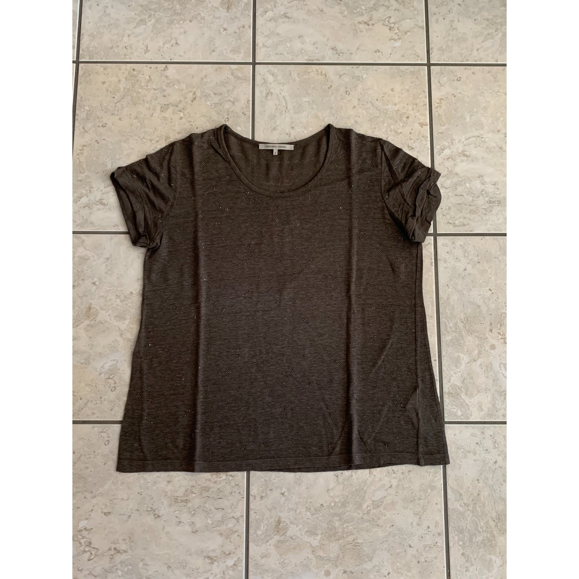Top, tee-shirt GERARD DAREL Marron