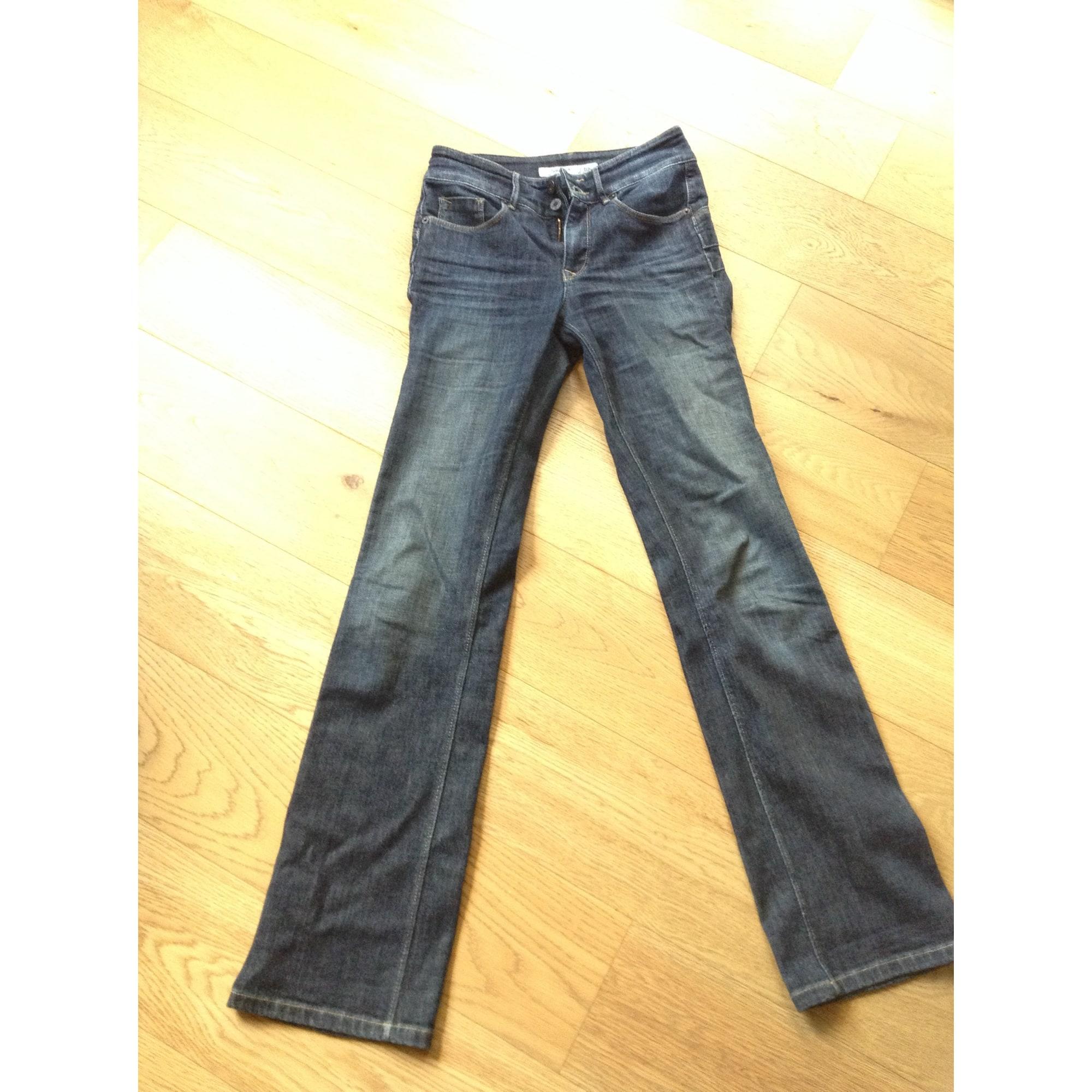 Jeans droit SALSA JEANS Bleu, bleu marine, bleu turquoise