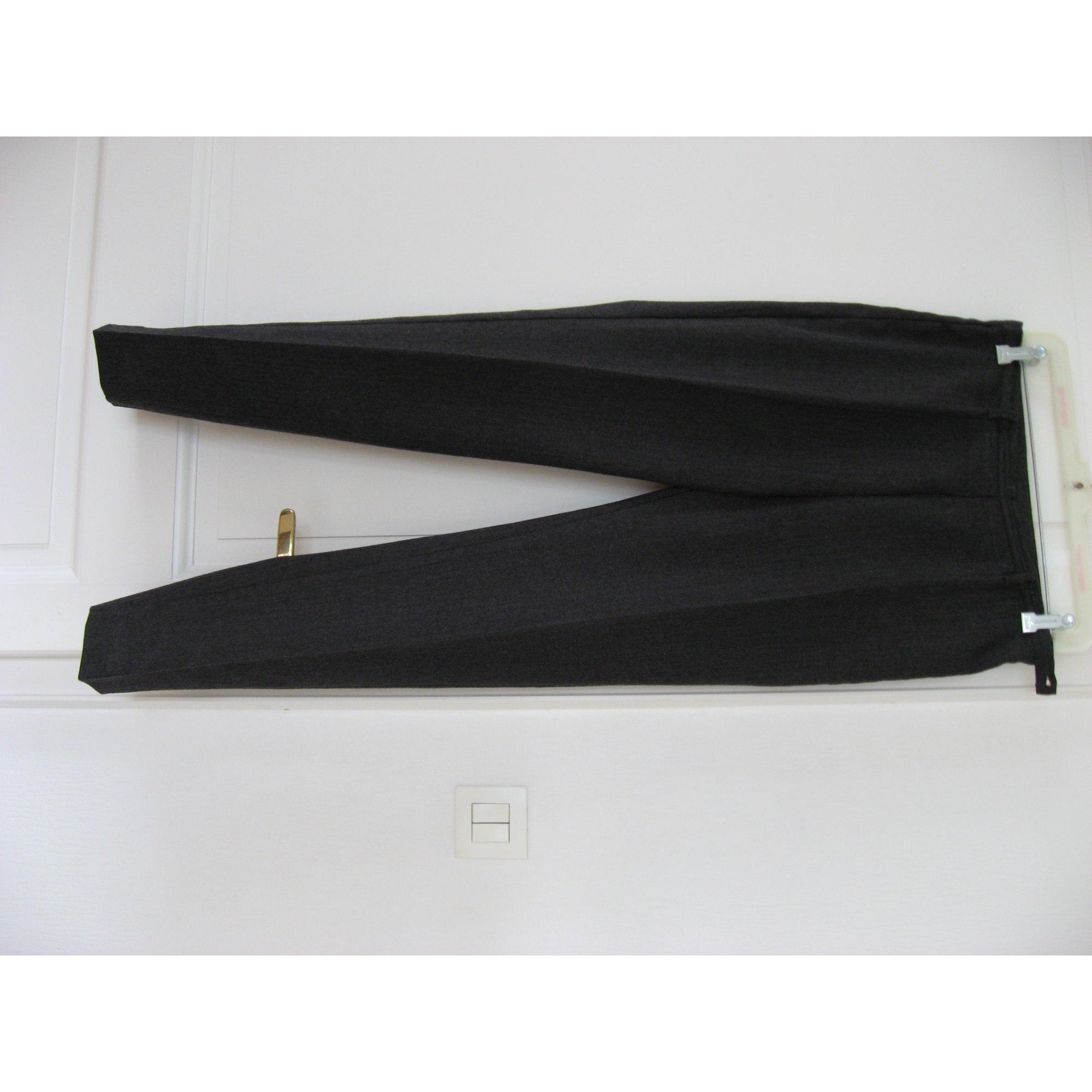 Pantalon droit UNITED COLORS OF BENETTON Gris, anthracite