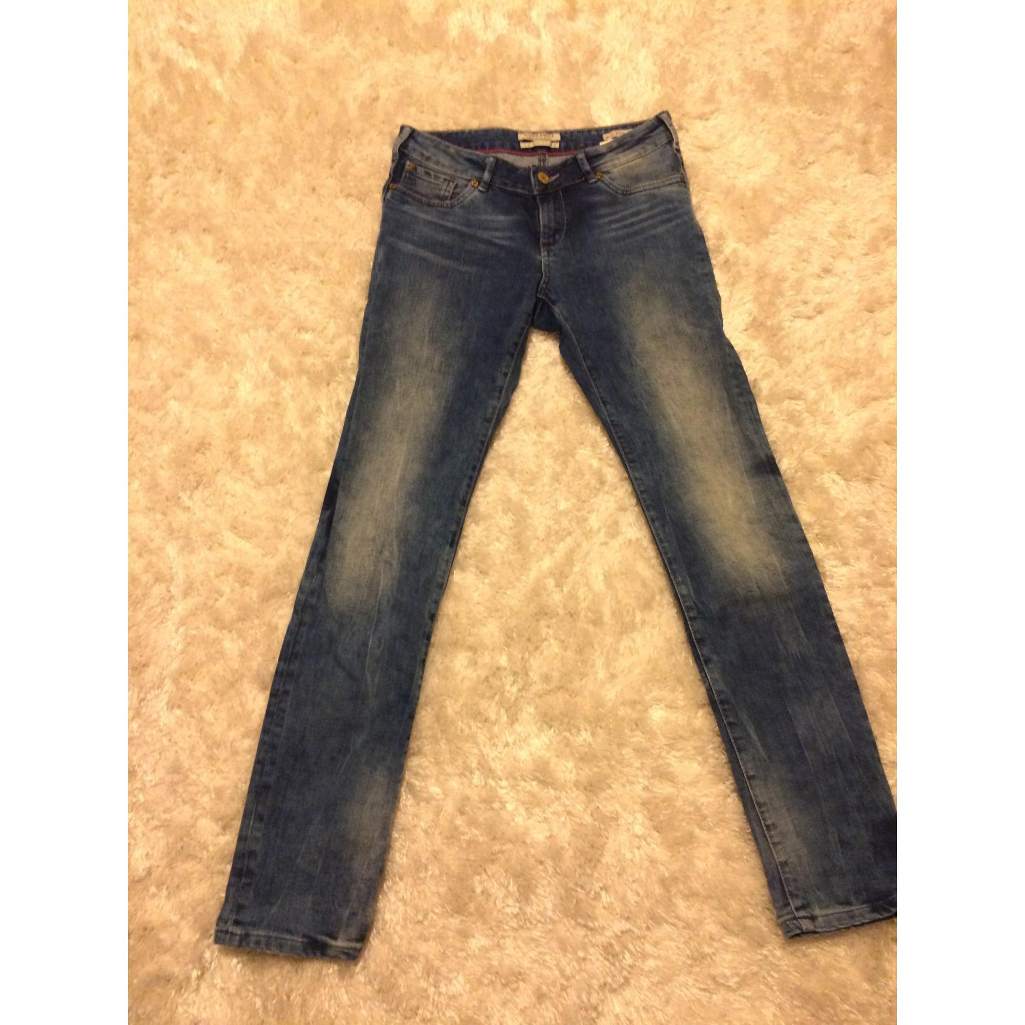 Jeans droit SCOTCH R'BELLE Bleu, bleu marine, bleu turquoise