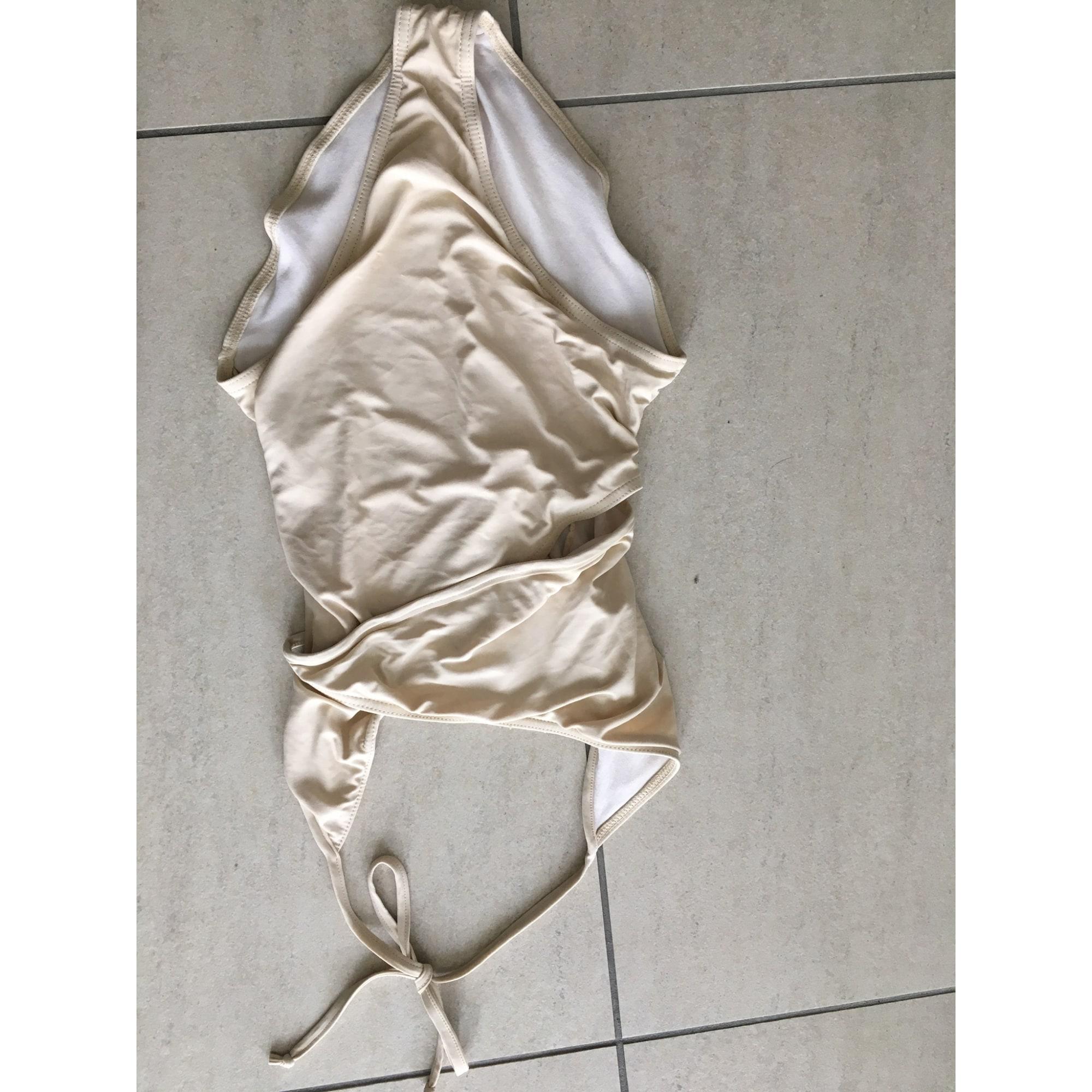 Maillot de bain une-pièce REPETTO Blanc, blanc cassé, écru