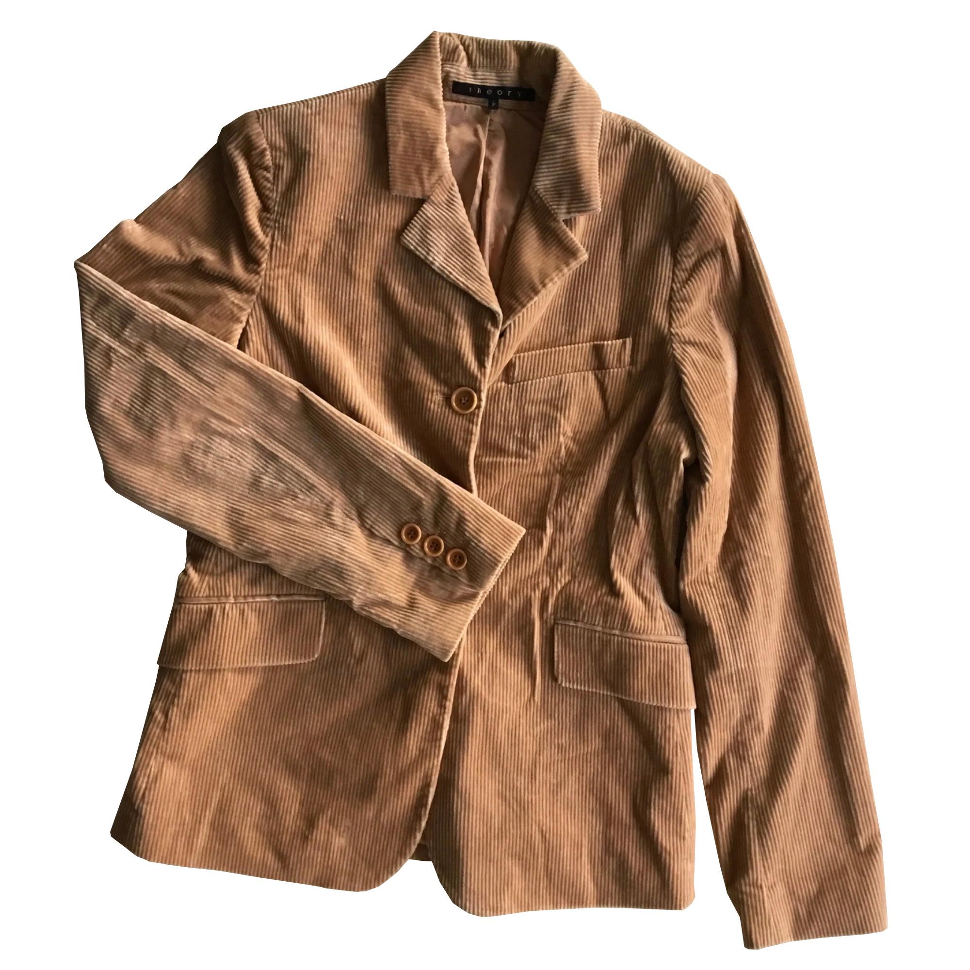 Blazer, veste tailleur THEORY Beige, camel