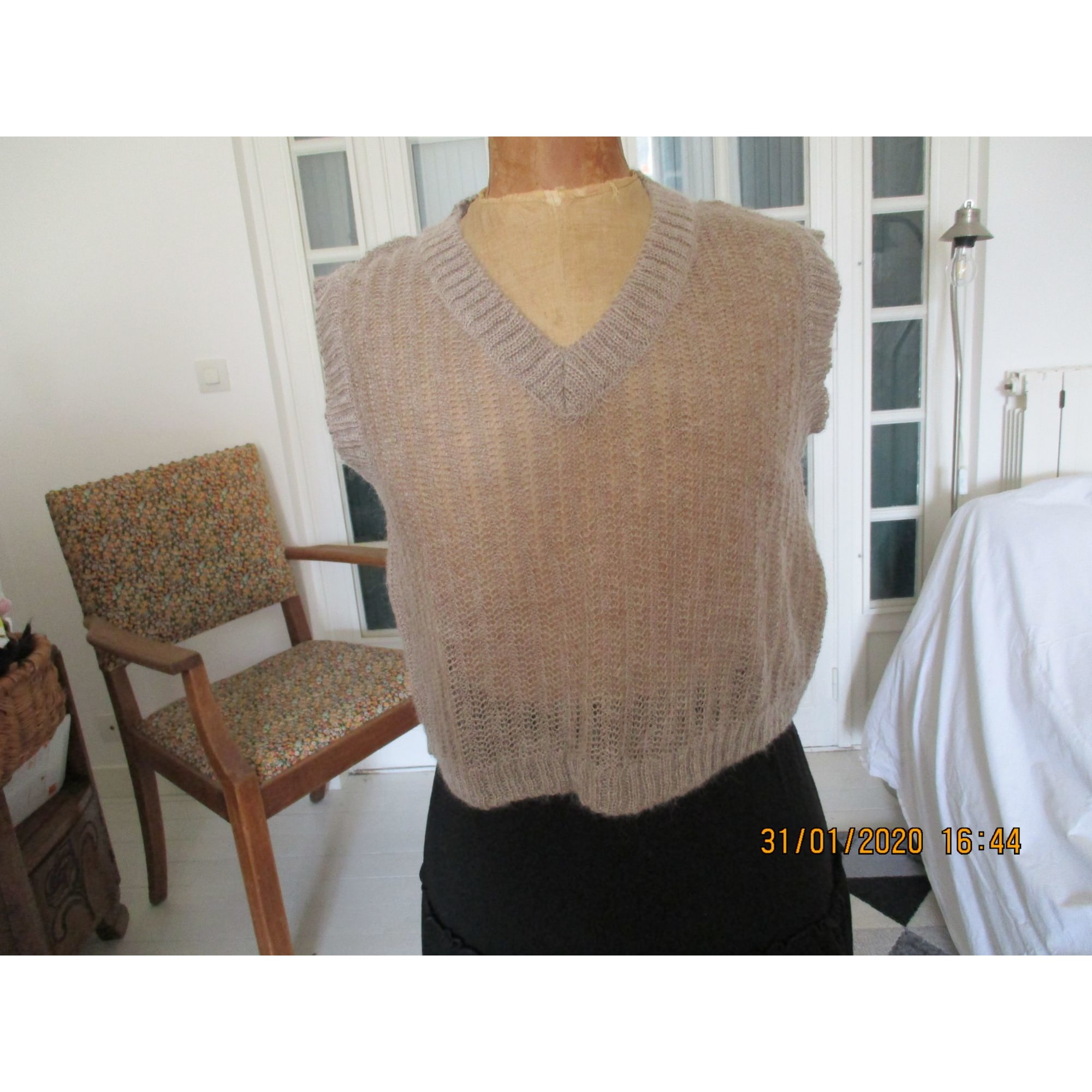 Pull BODY & ROSE Beige, camel