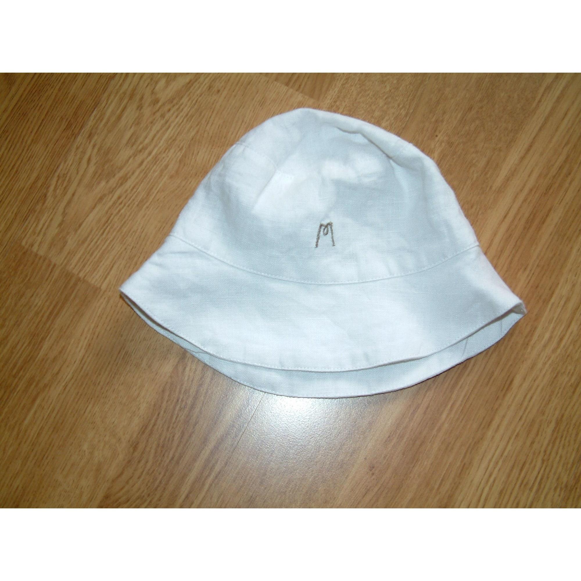 Chapeau CLAYEUX Blanc, blanc cassé, écru