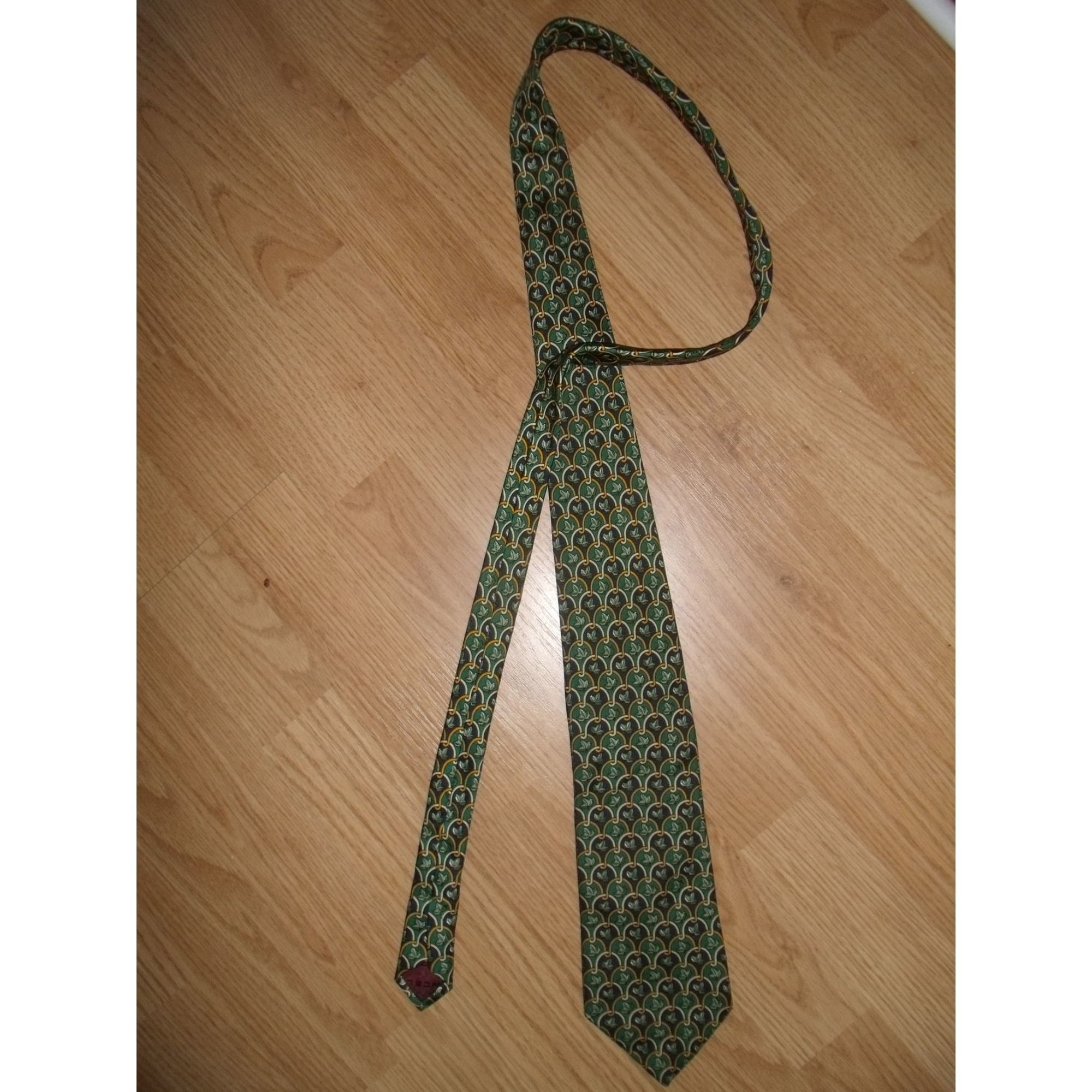 Cravate LANCEL Vert