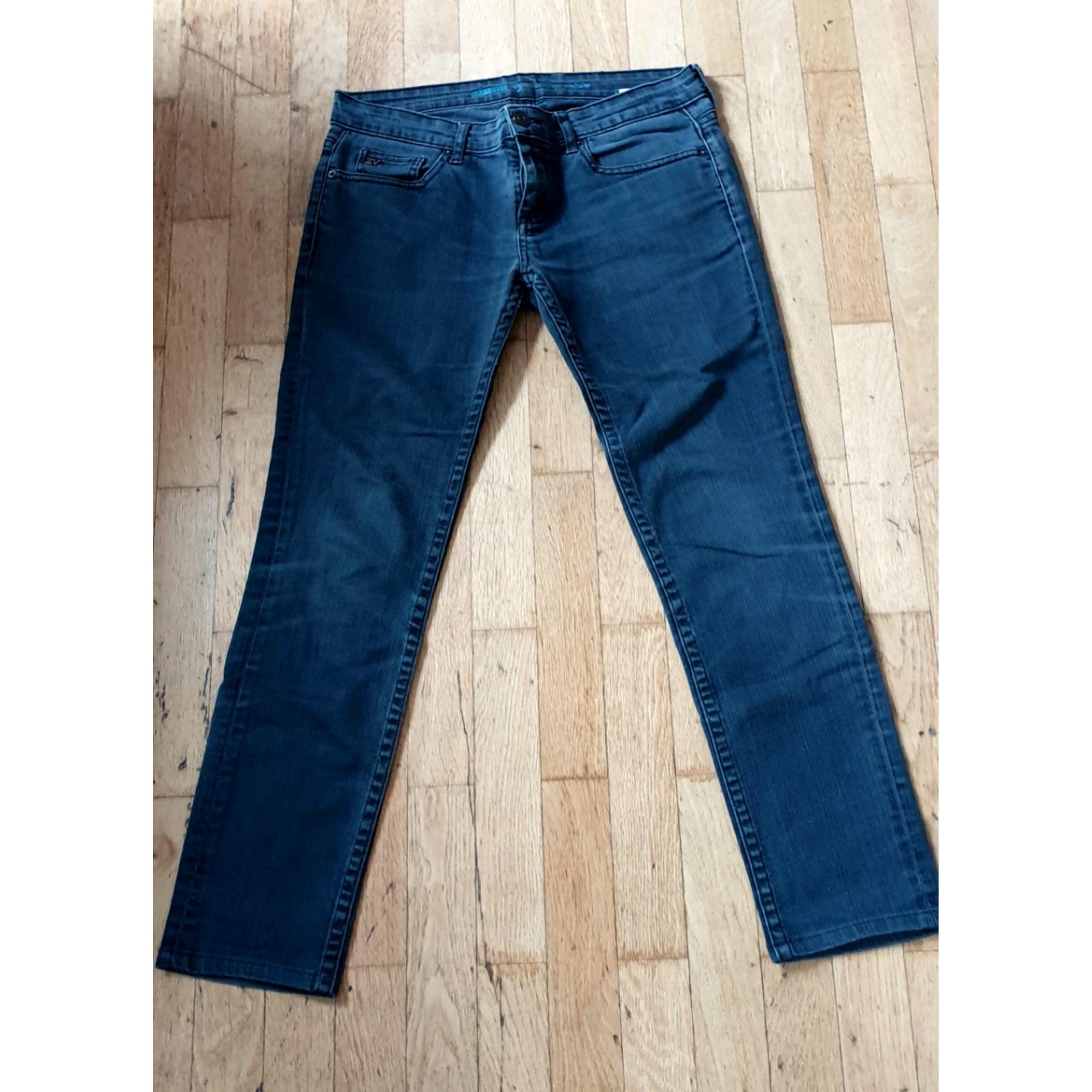 Jeans droit ZADIG & VOLTAIRE Noir