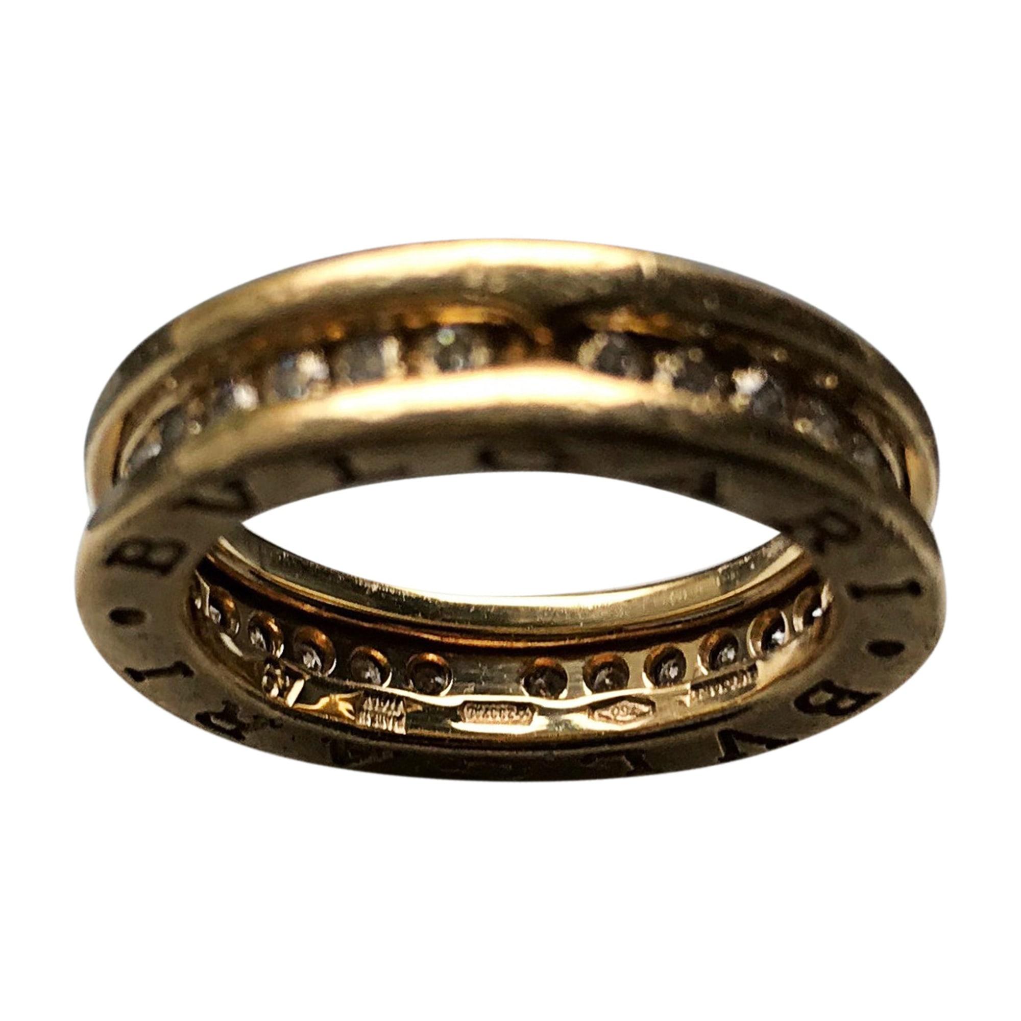 Ring BULGARI White, off-white, ecru