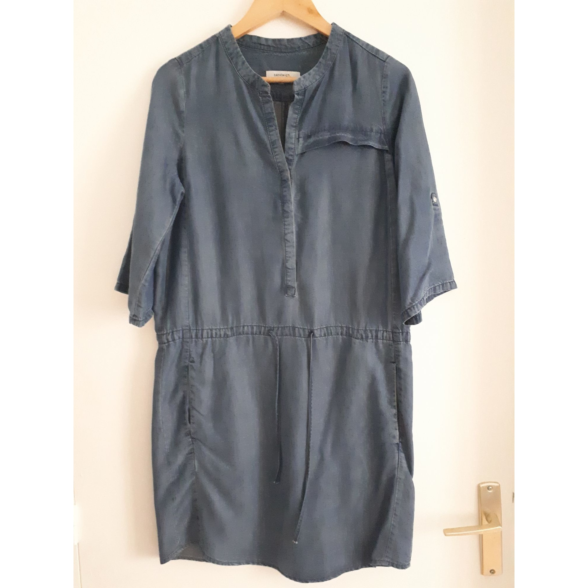 Robe courte SANDWICH Bleu, bleu marine, bleu turquoise