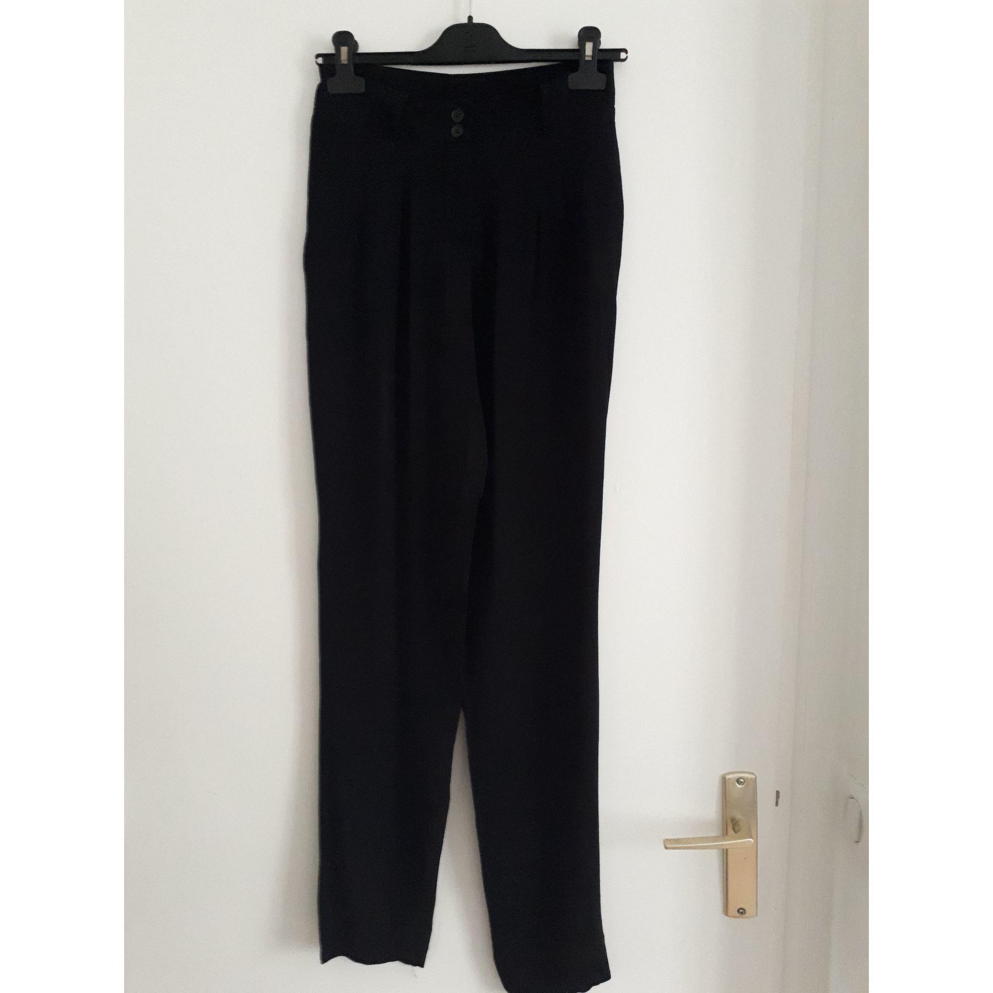 Pantalon carotte KOOKAI Noir