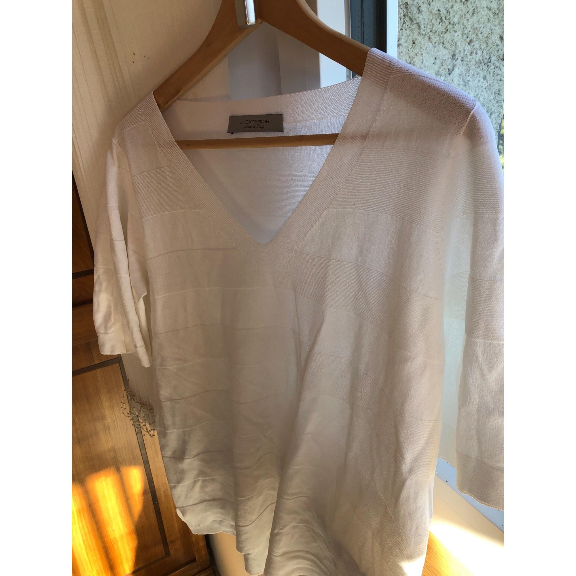 Top, tee-shirt D.EXTERIOR Blanc, blanc cassé, écru