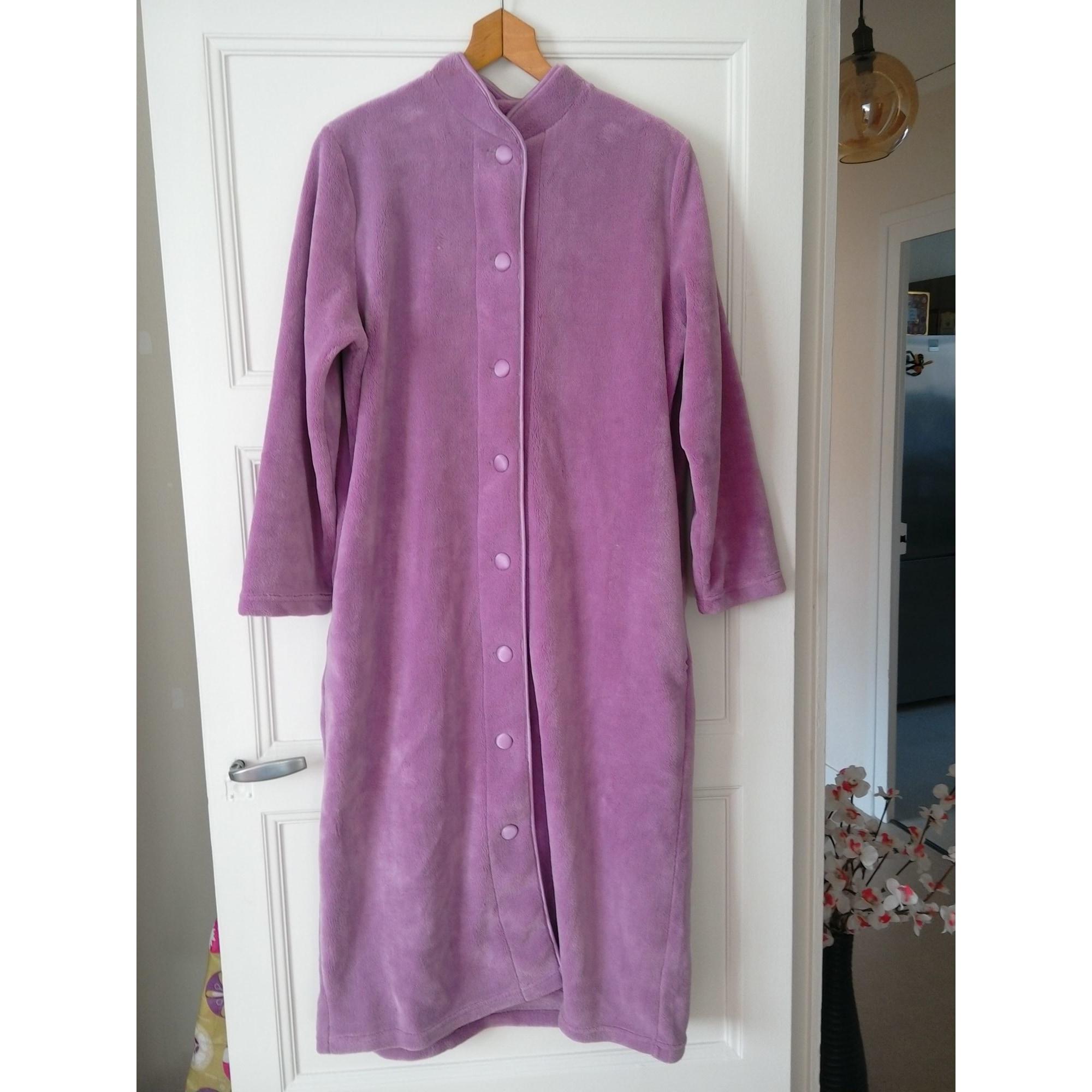 Robe de chambre DAMART Violet, mauve, lavande