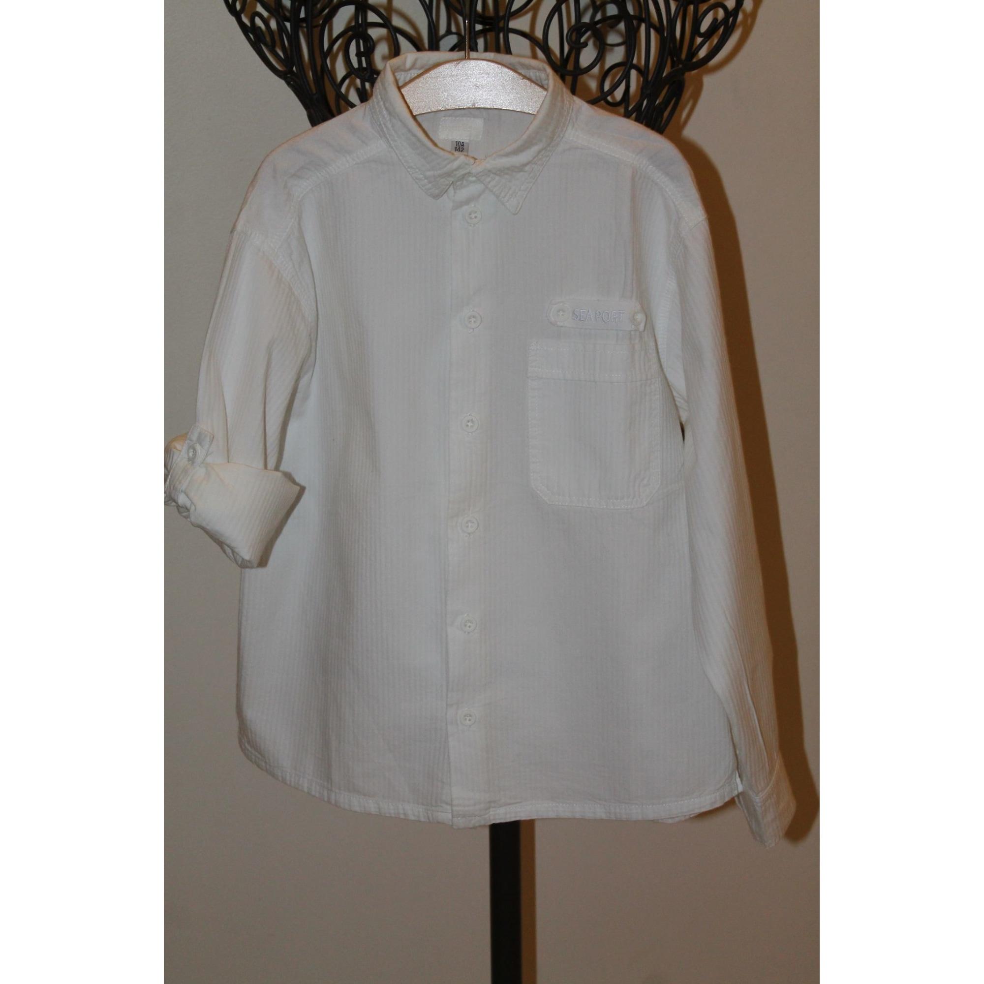 Chemise MARÈSE Blanc, blanc cassé, écru
