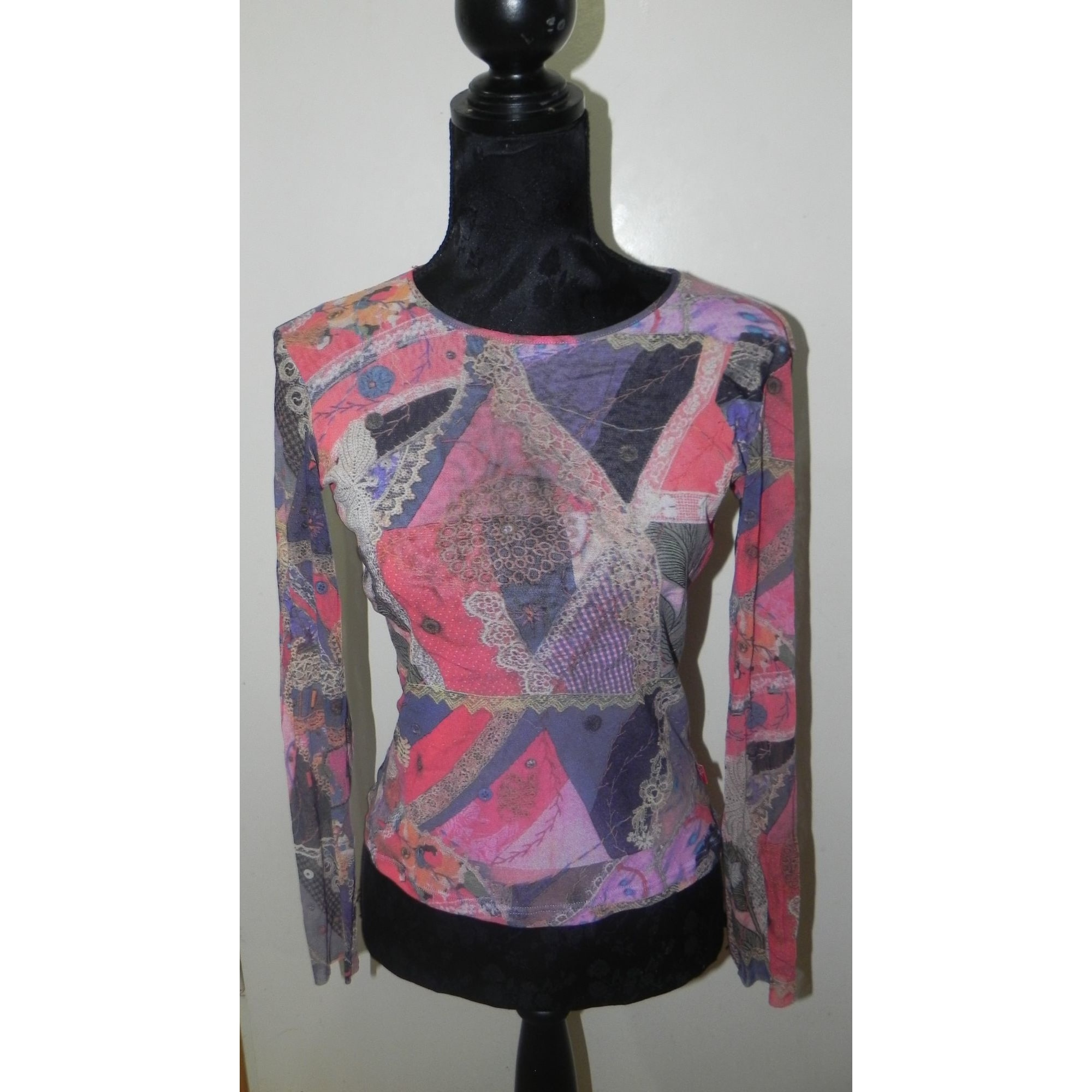Top, tee-shirt CHRISTIAN LACROIX Multicouleur