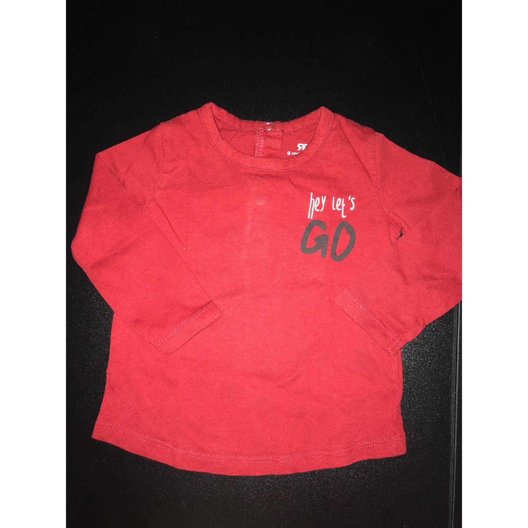 Top, tee shirt LA REDOUTE Rouge, bordeaux