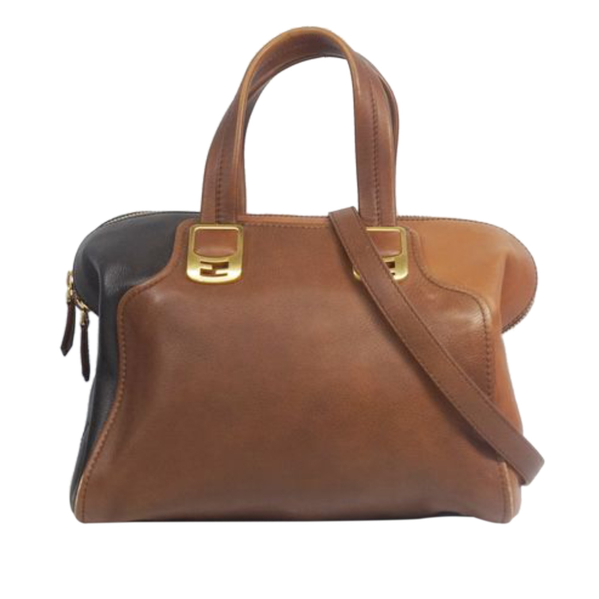 Sacoche FENDI Brown