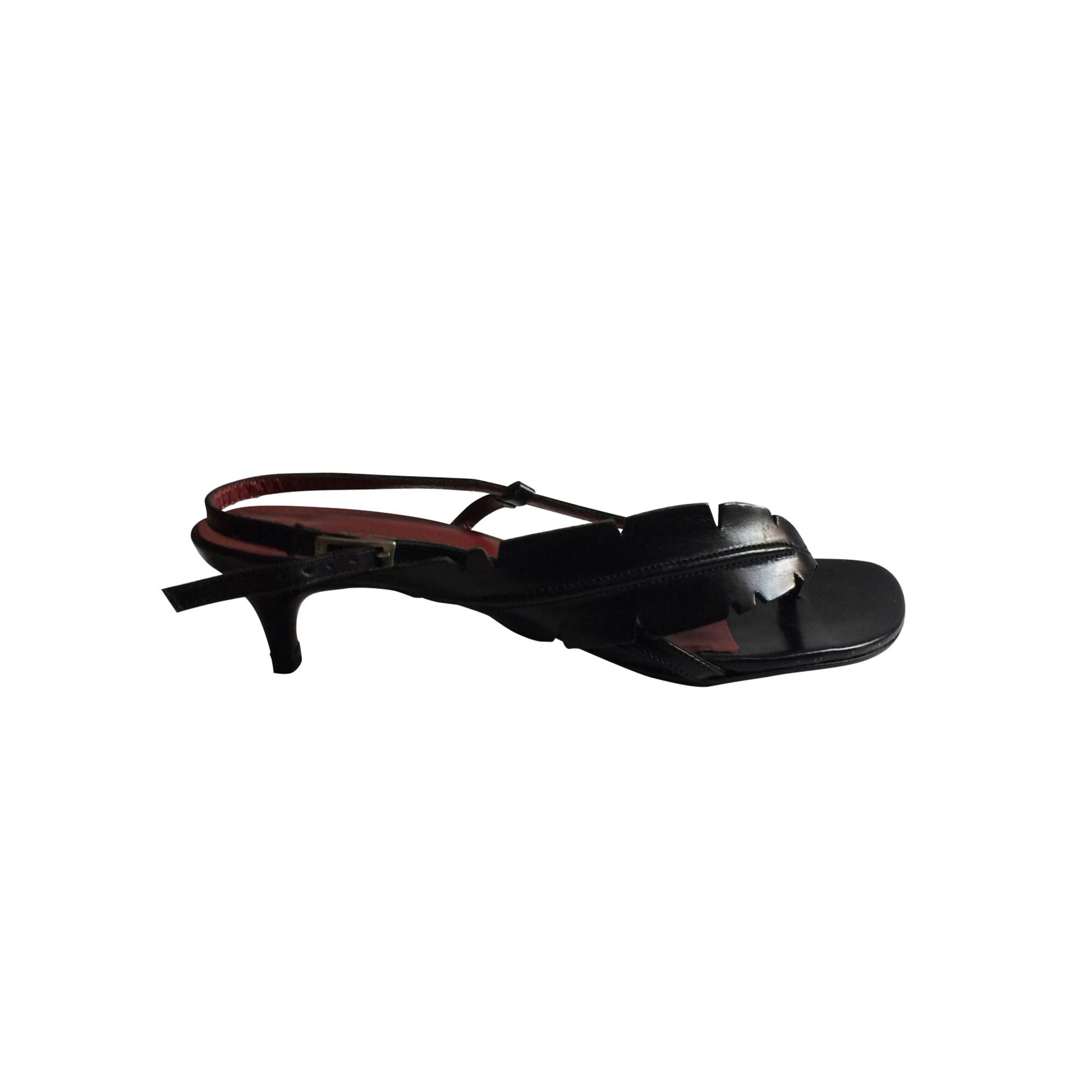 Sandales à talons KENZO Noir
