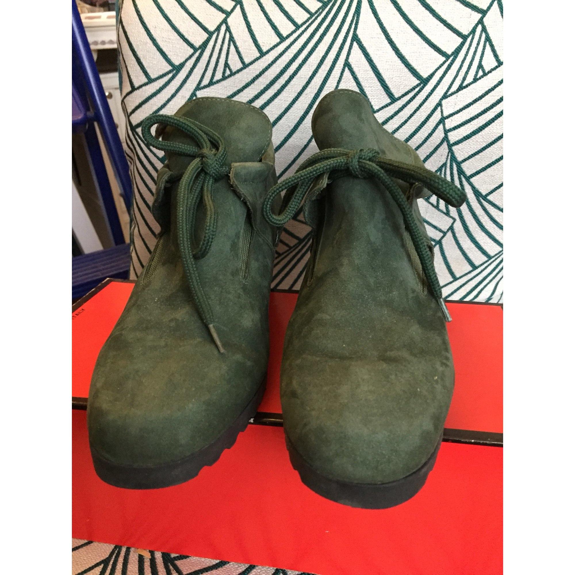 Chaussures à lacets  MARQUE INCONNUE Vert