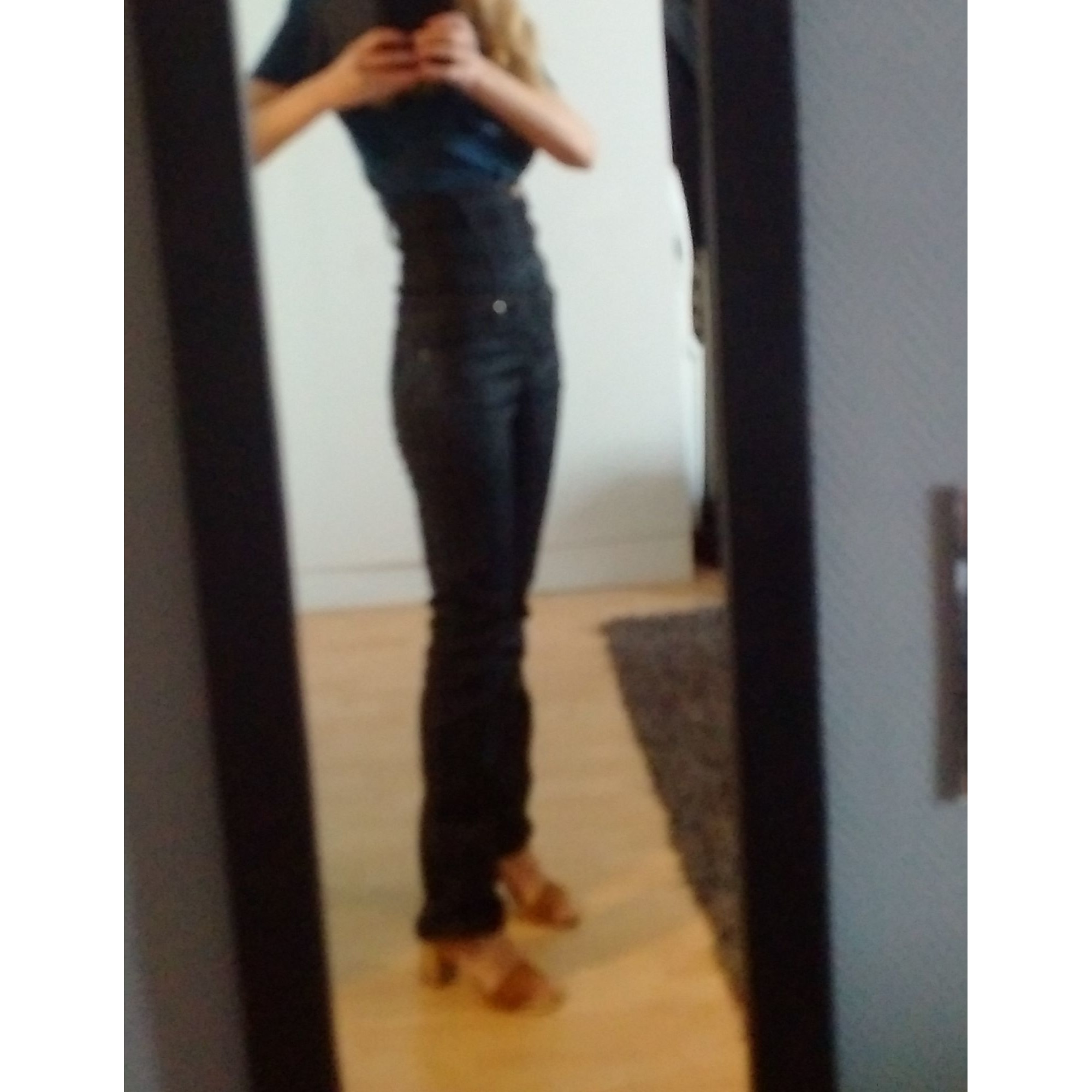 Jeans droit DENIM STUDIO Noir