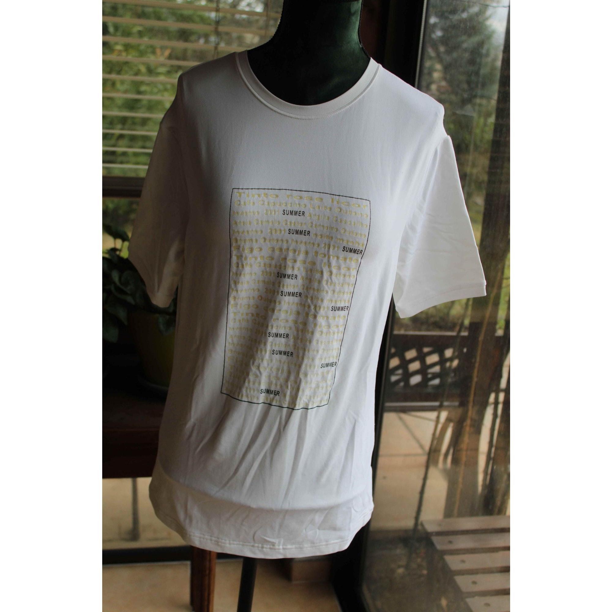 Top, tee-shirt LILY Blanc, blanc cassé, écru
