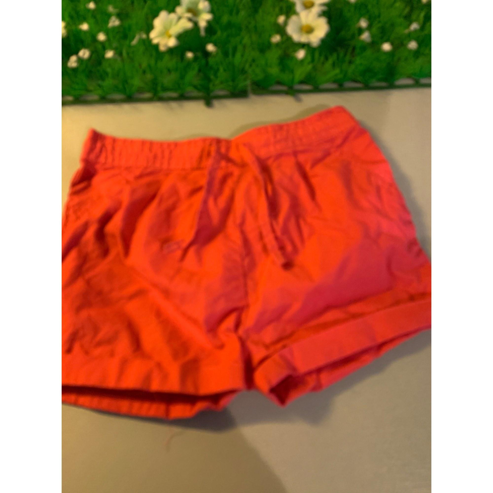 Shorts OBAIBI Red, burgundy