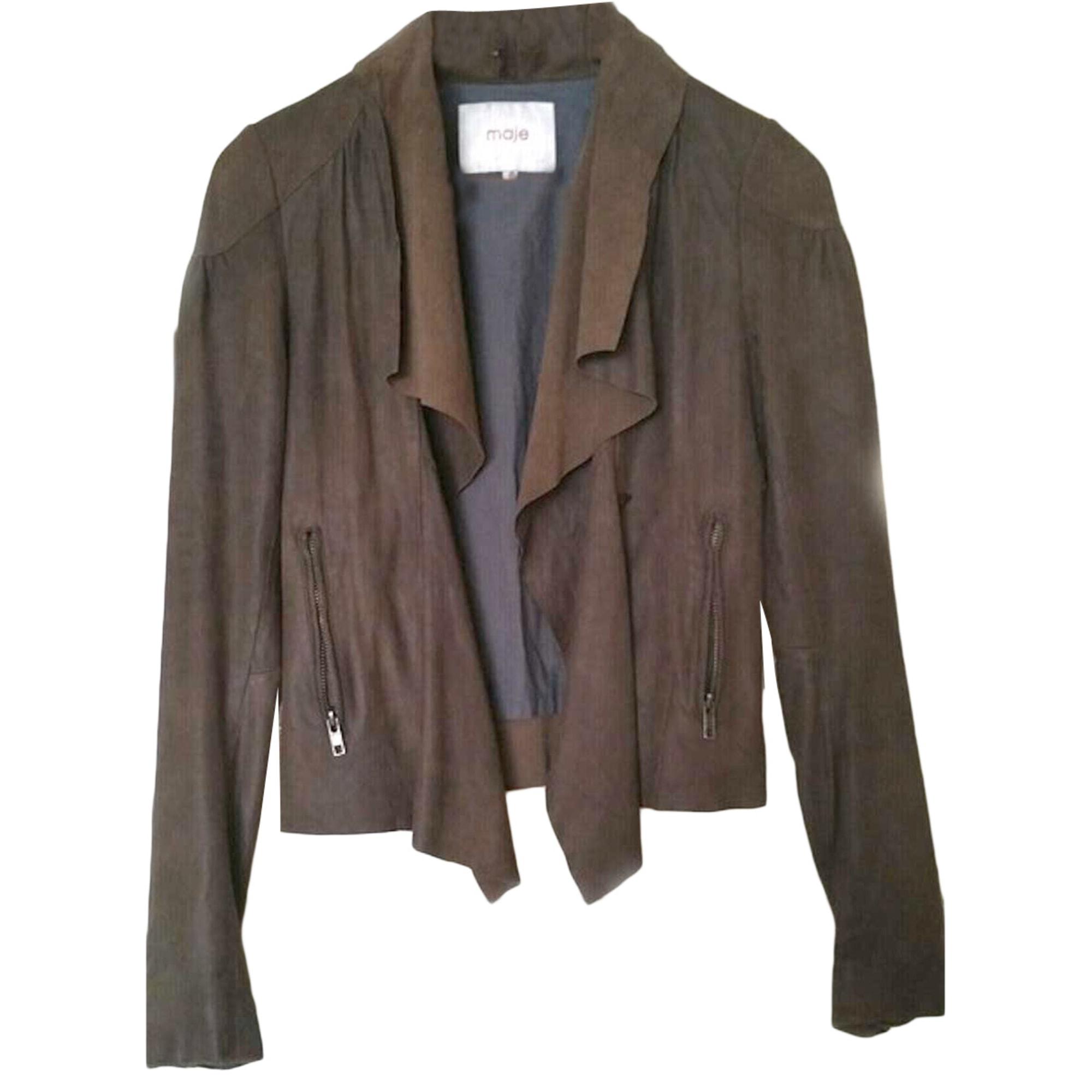 Blazer, veste tailleur MAJE Marron