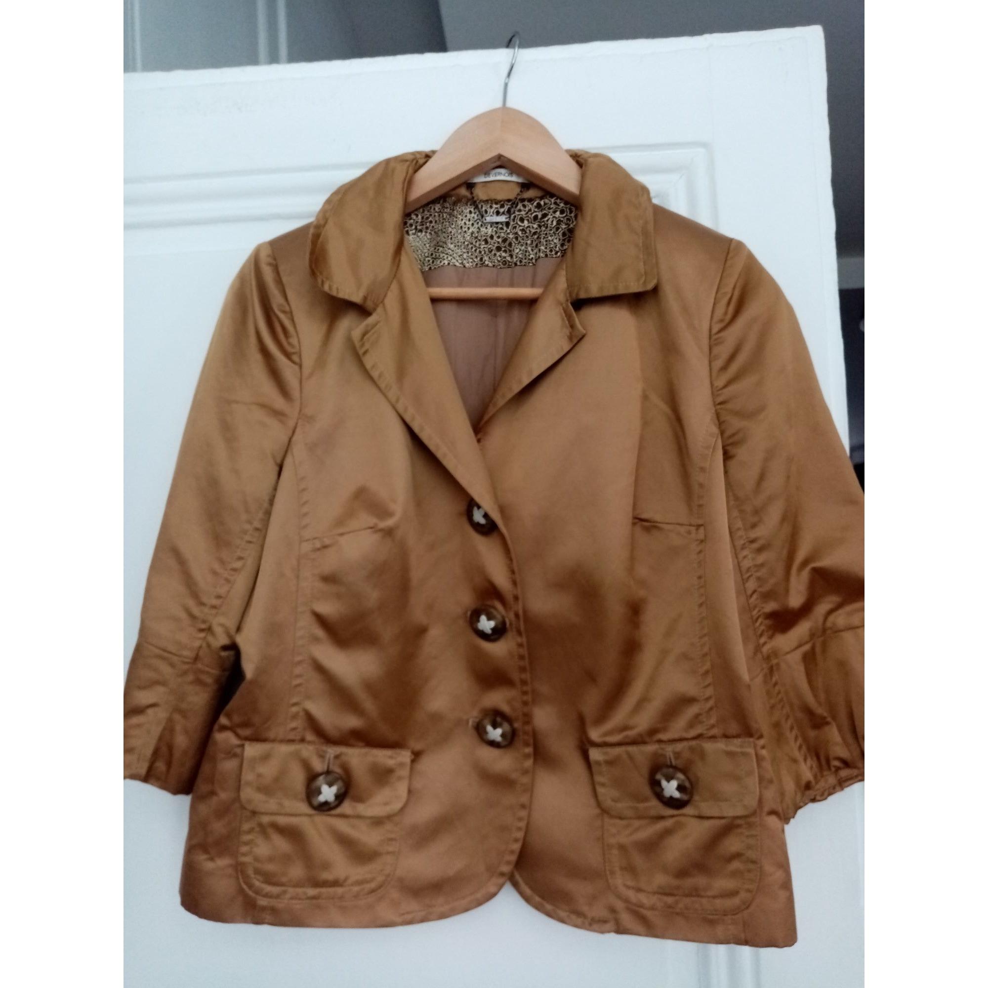 Blazer, veste tailleur DEVERNOIS Doré, bronze, cuivre