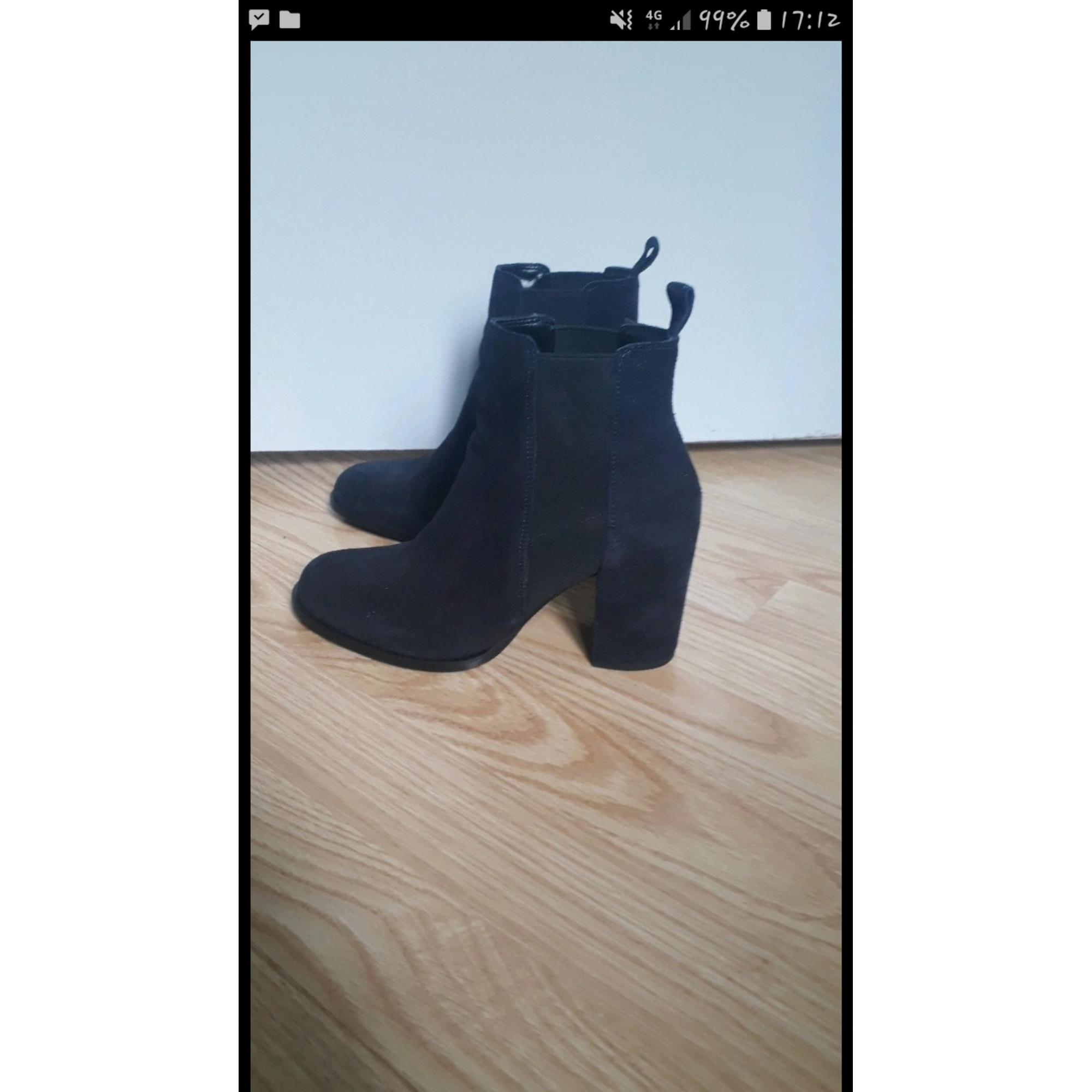 Bottines & low boots à talons ERAM Bleu, bleu marine, bleu turquoise