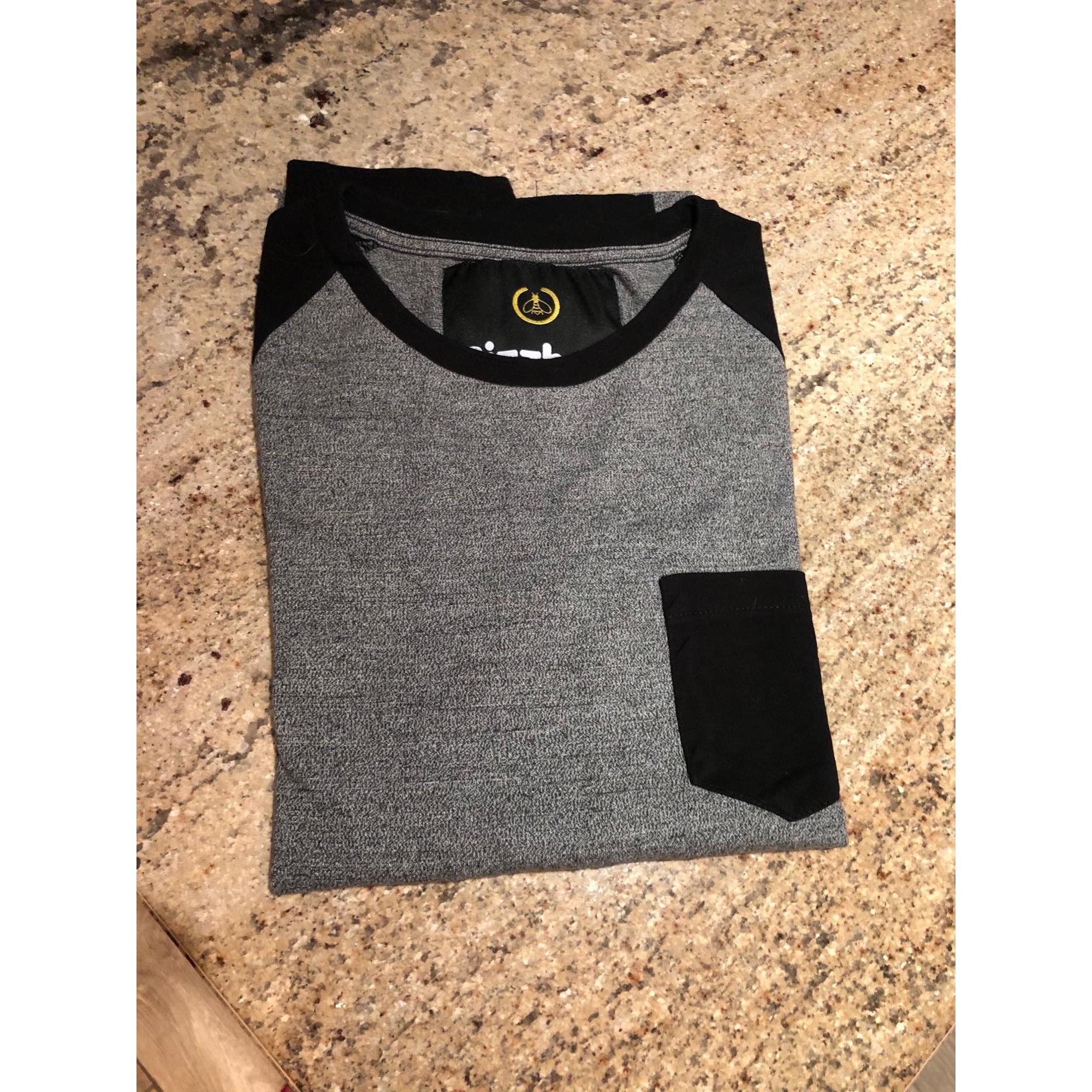 Tee-shirt BIZZBEE Gris, anthracite