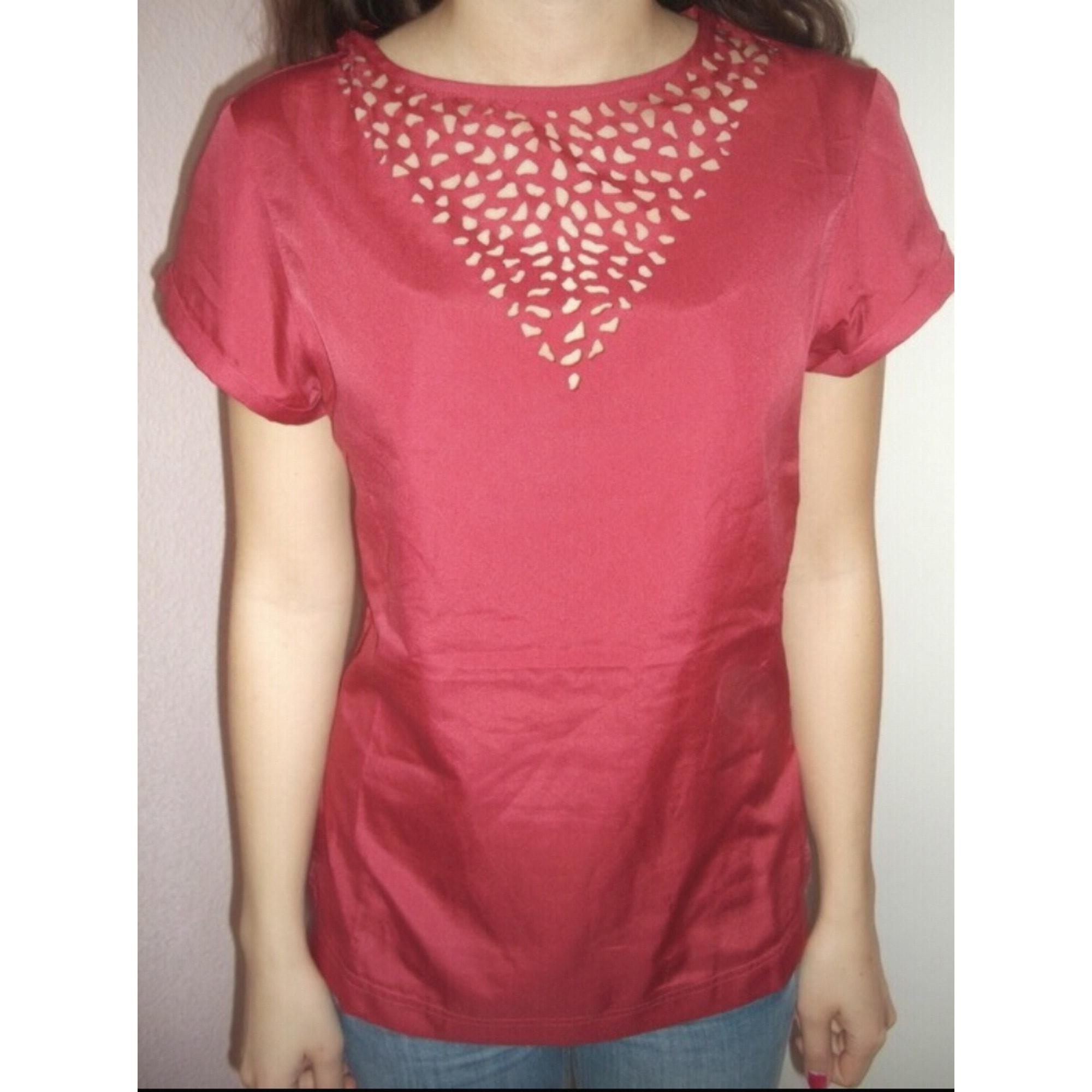 Top, tee-shirt MIM Rose, fuschia, vieux rose