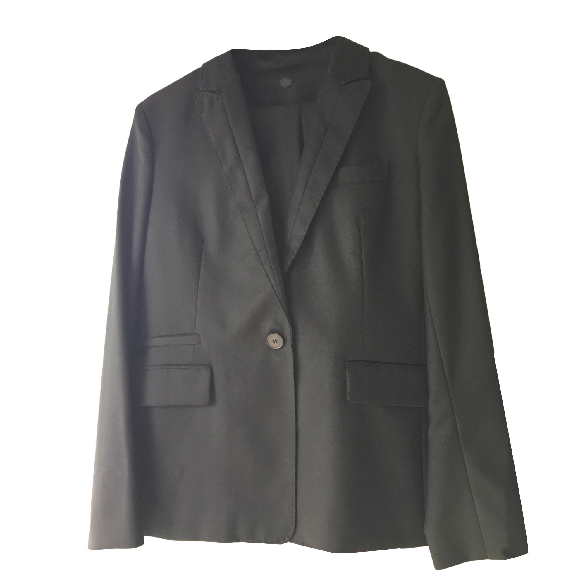 Tailleur pantalon COMPTOIR DES COTONNIERS Noir